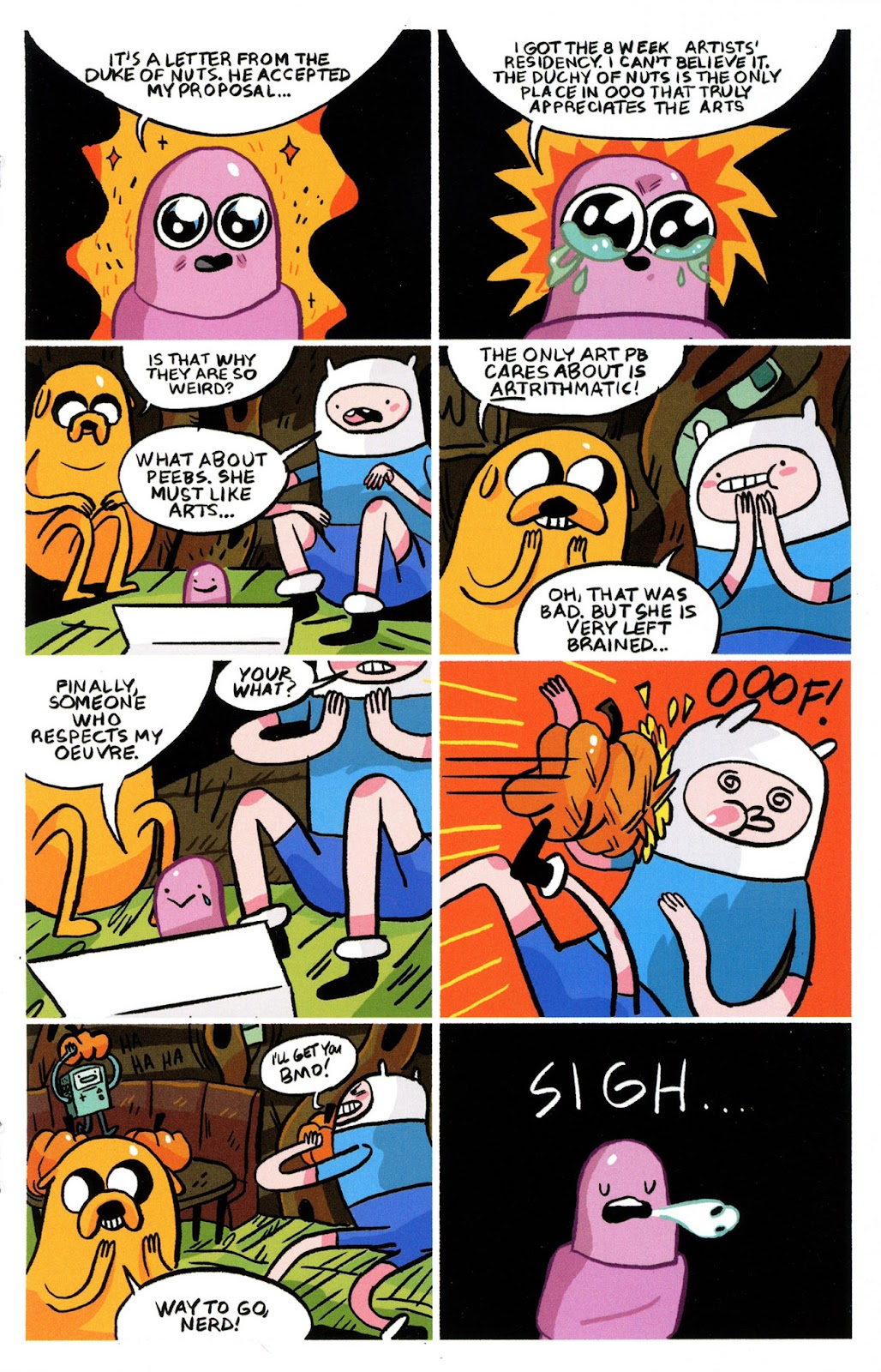 Read online Adventure Time Comics comic -  Issue #6 - 16