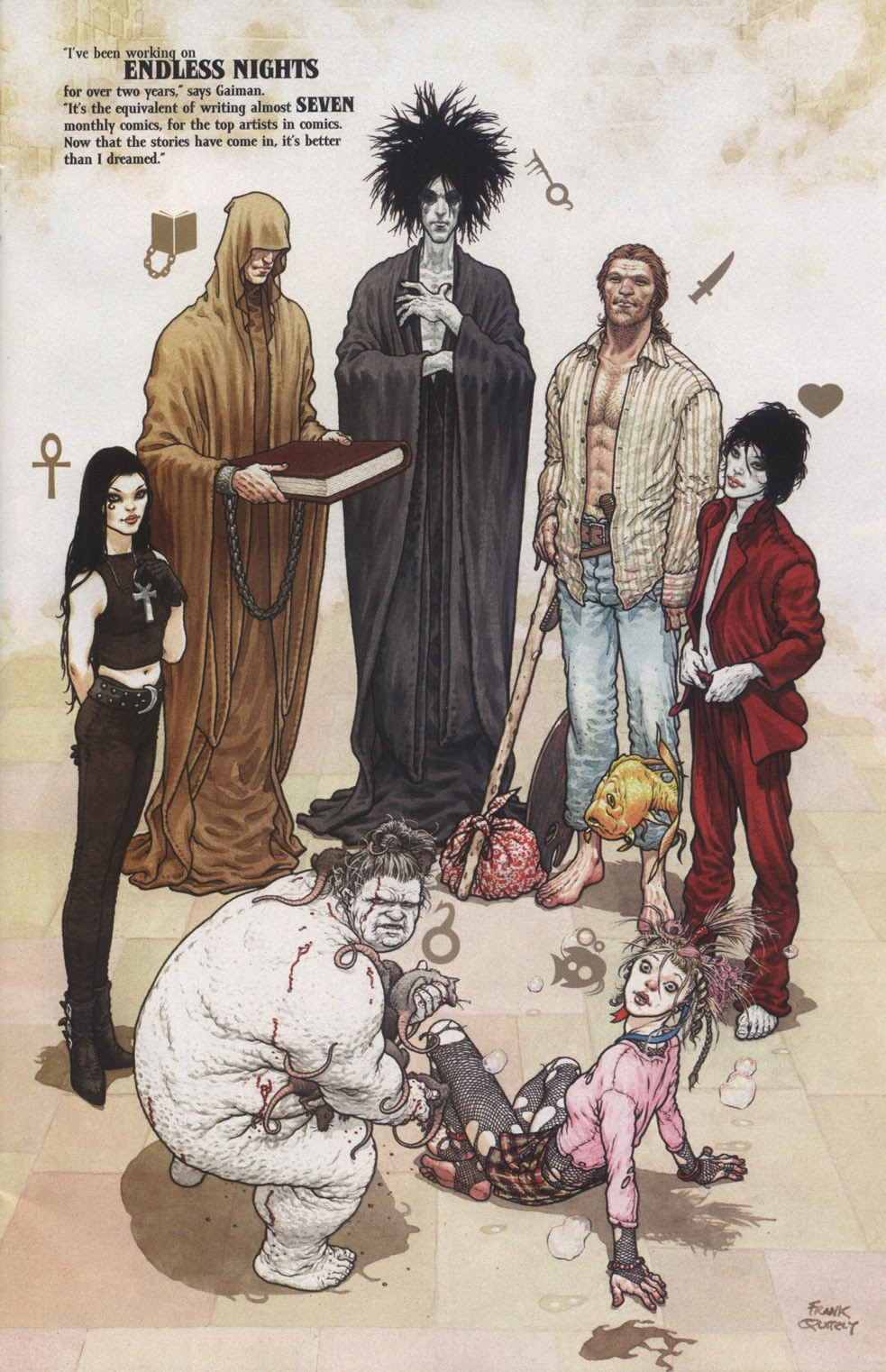 Read online The Sandman: Endless Nights comic -  Issue # _Special - 3