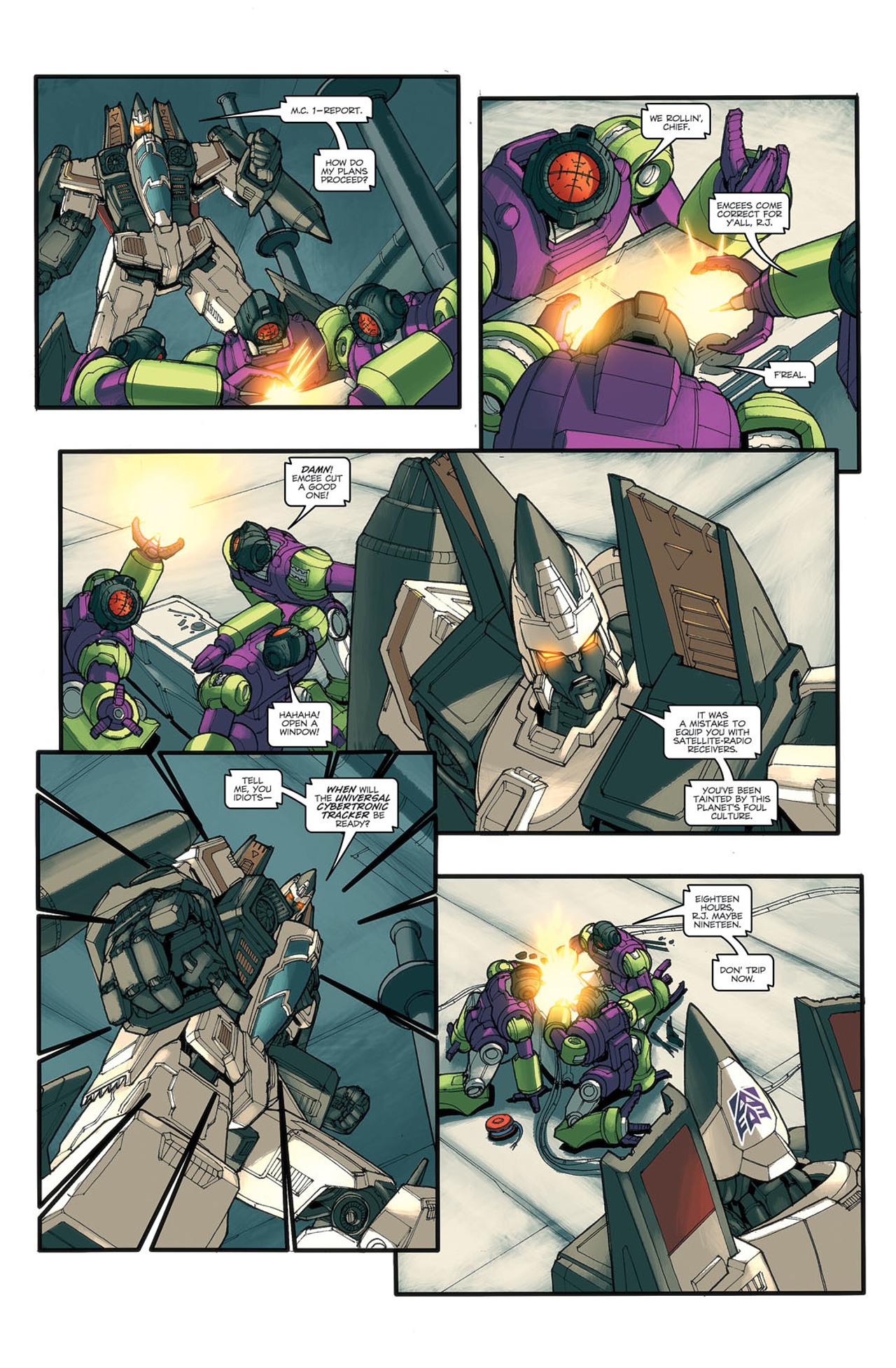 Read online Transformers Spotlight: Ramjet comic -  Issue # Full - 9