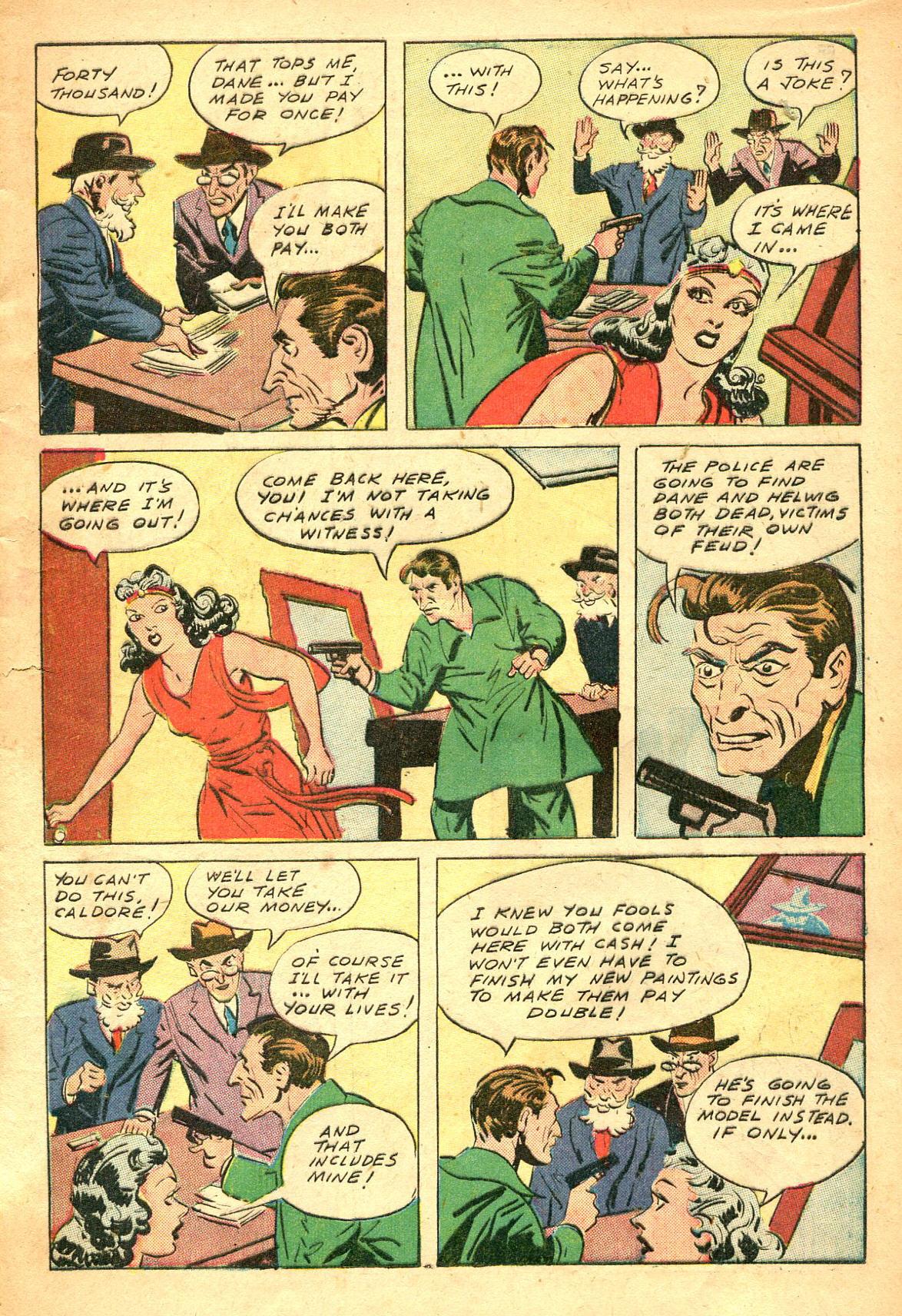 Read online Shadow Comics comic -  Issue #47 - 14