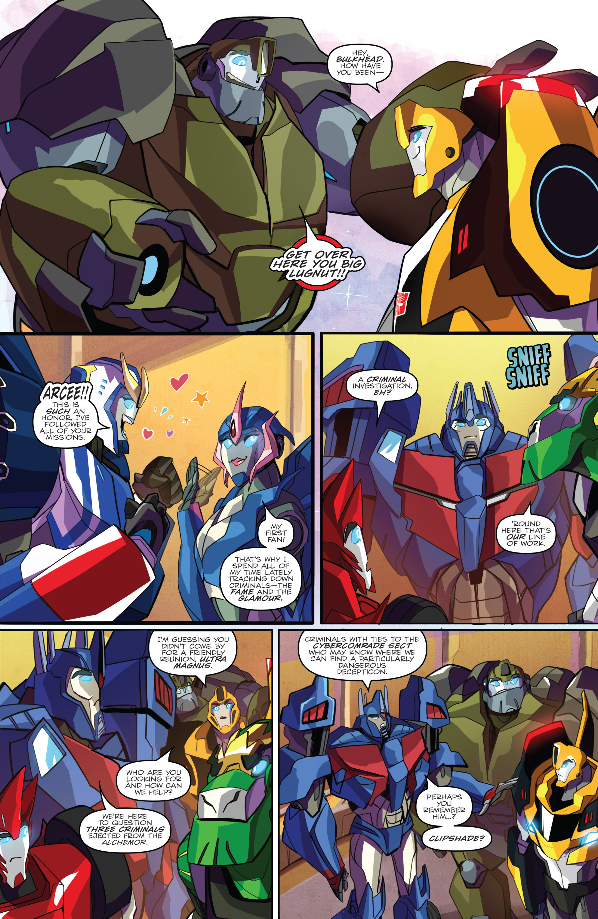Read online Transformers: Robots In Disguise (2015) comic -  Issue #2 - 13