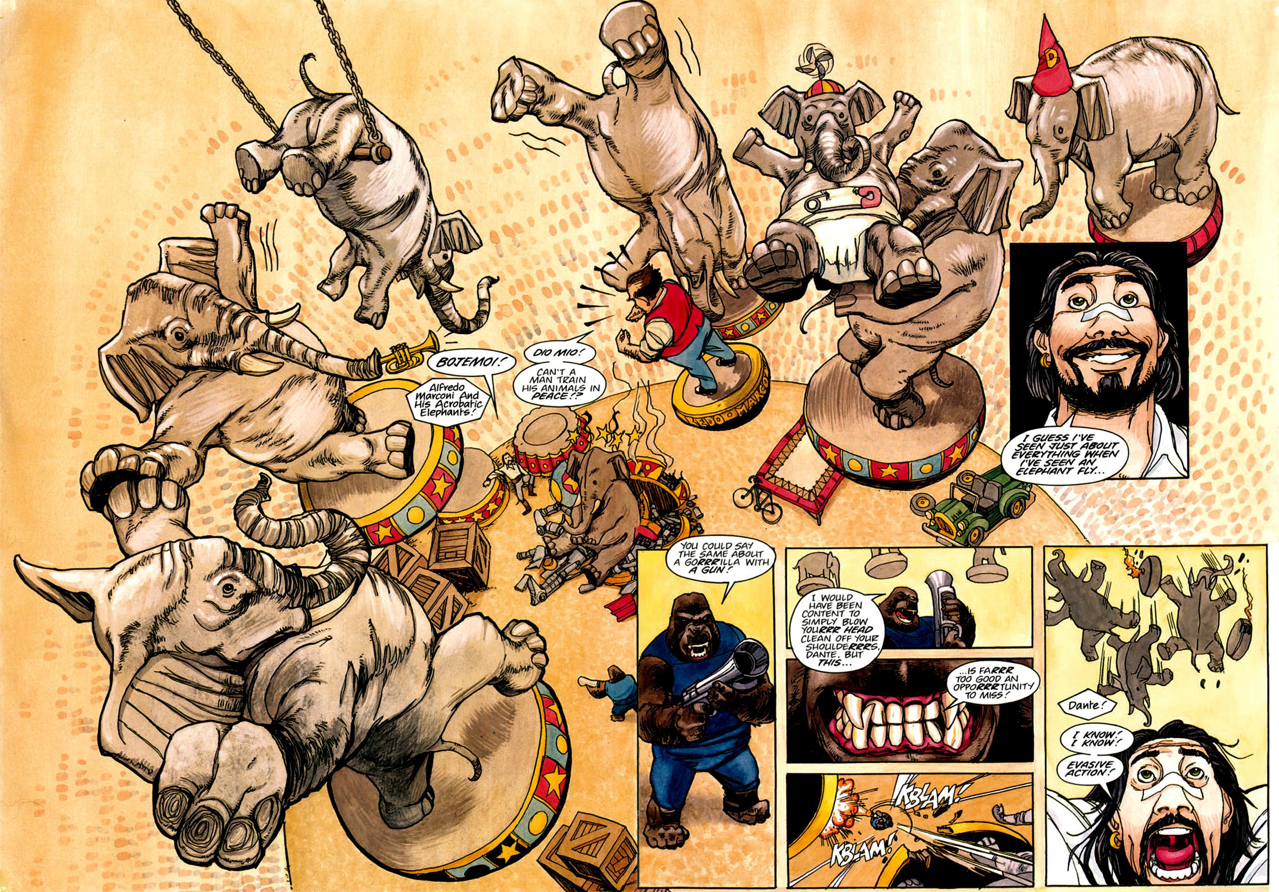 Read online Nikolai Dante comic -  Issue # TPB 1 - 147