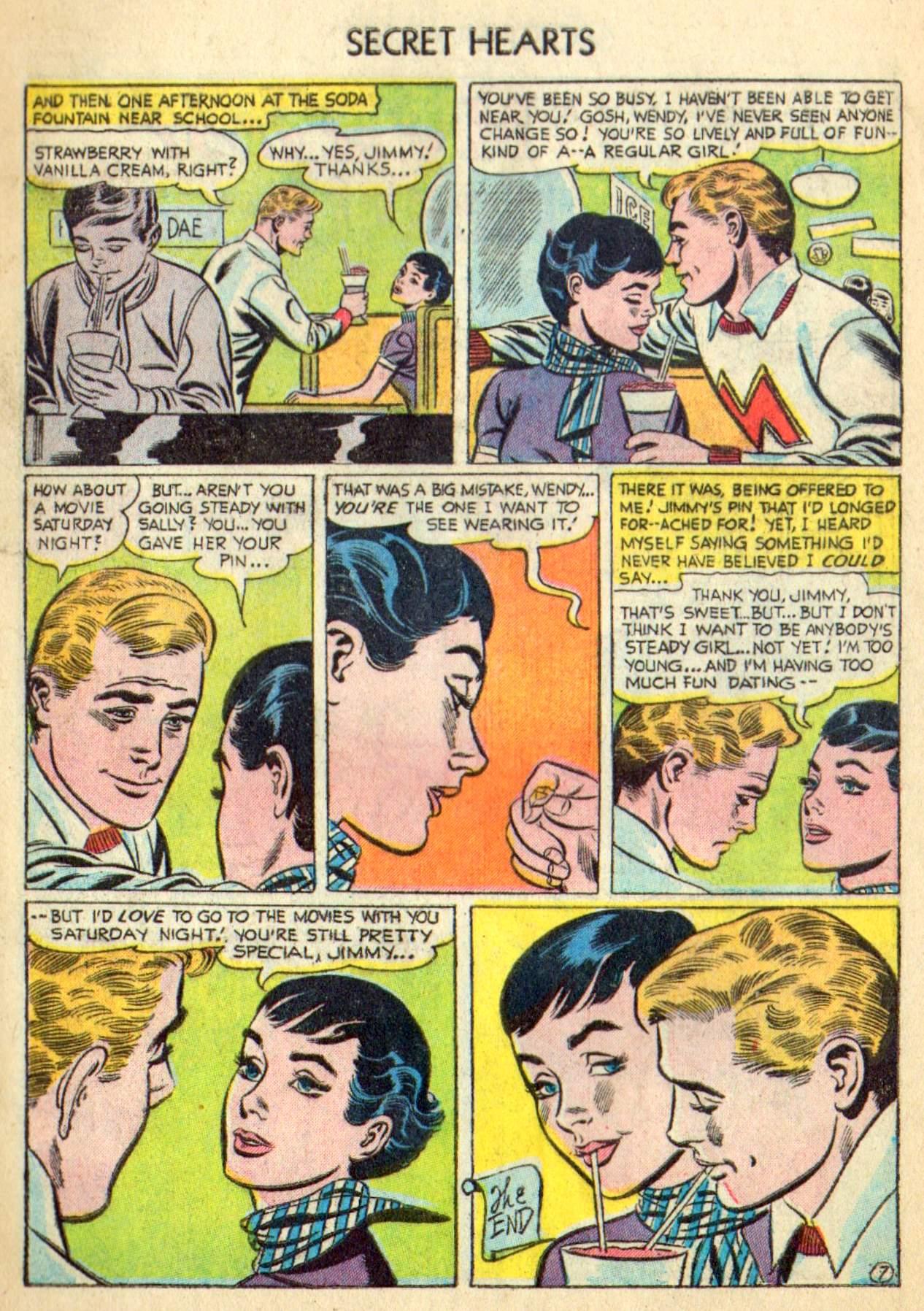 Read online Secret Hearts comic -  Issue #31 - 9