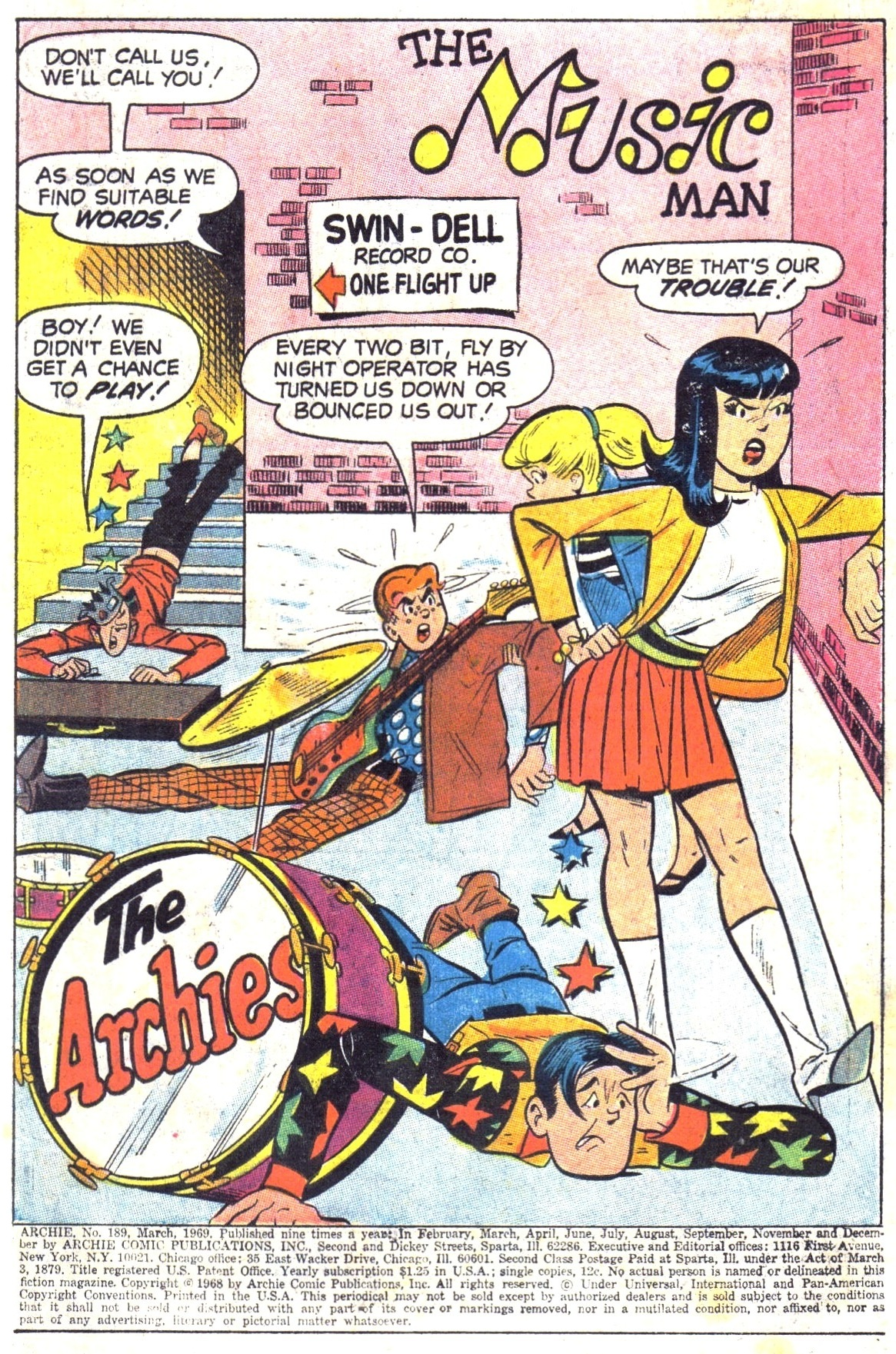Read online Archie (1960) comic -  Issue #189 - 3