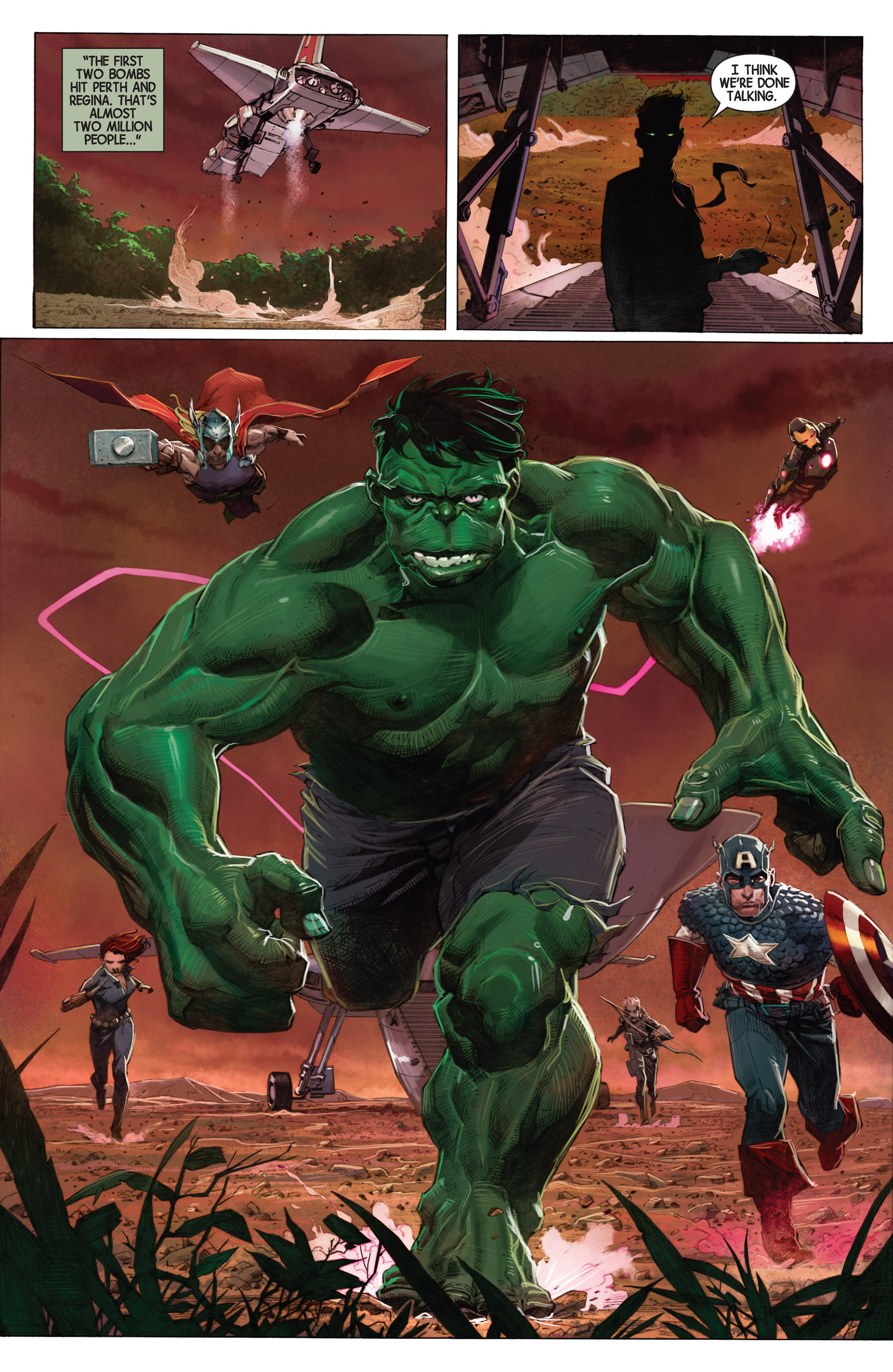 Read online Avengers (2013) comic -  Issue #1 - 14