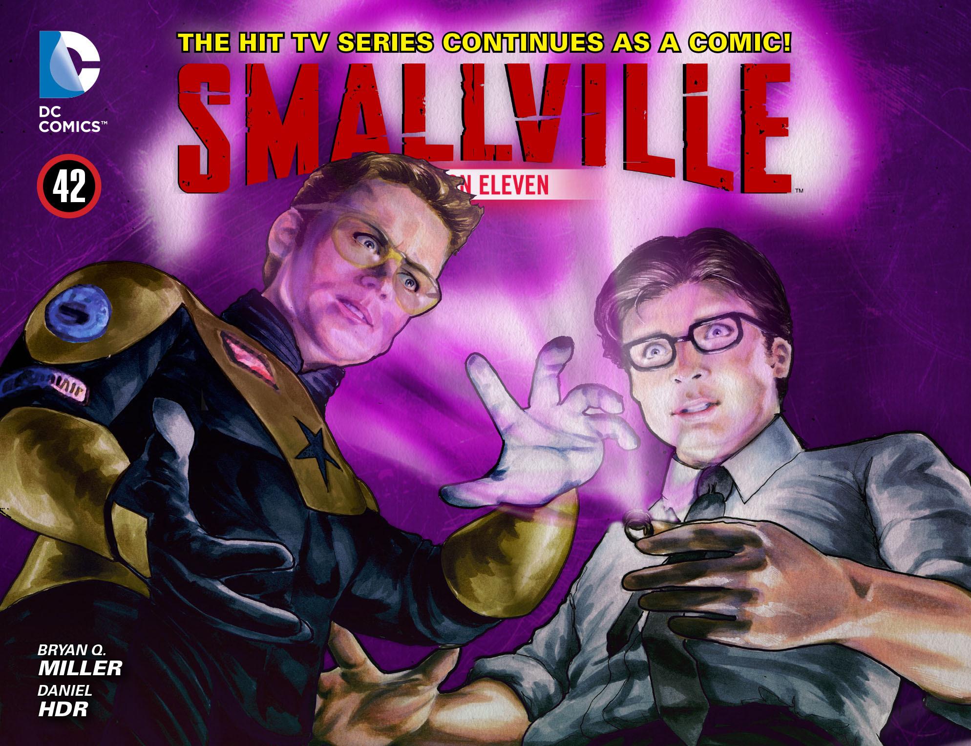 Read online Smallville: Season 11 comic -  Issue #42 - 1