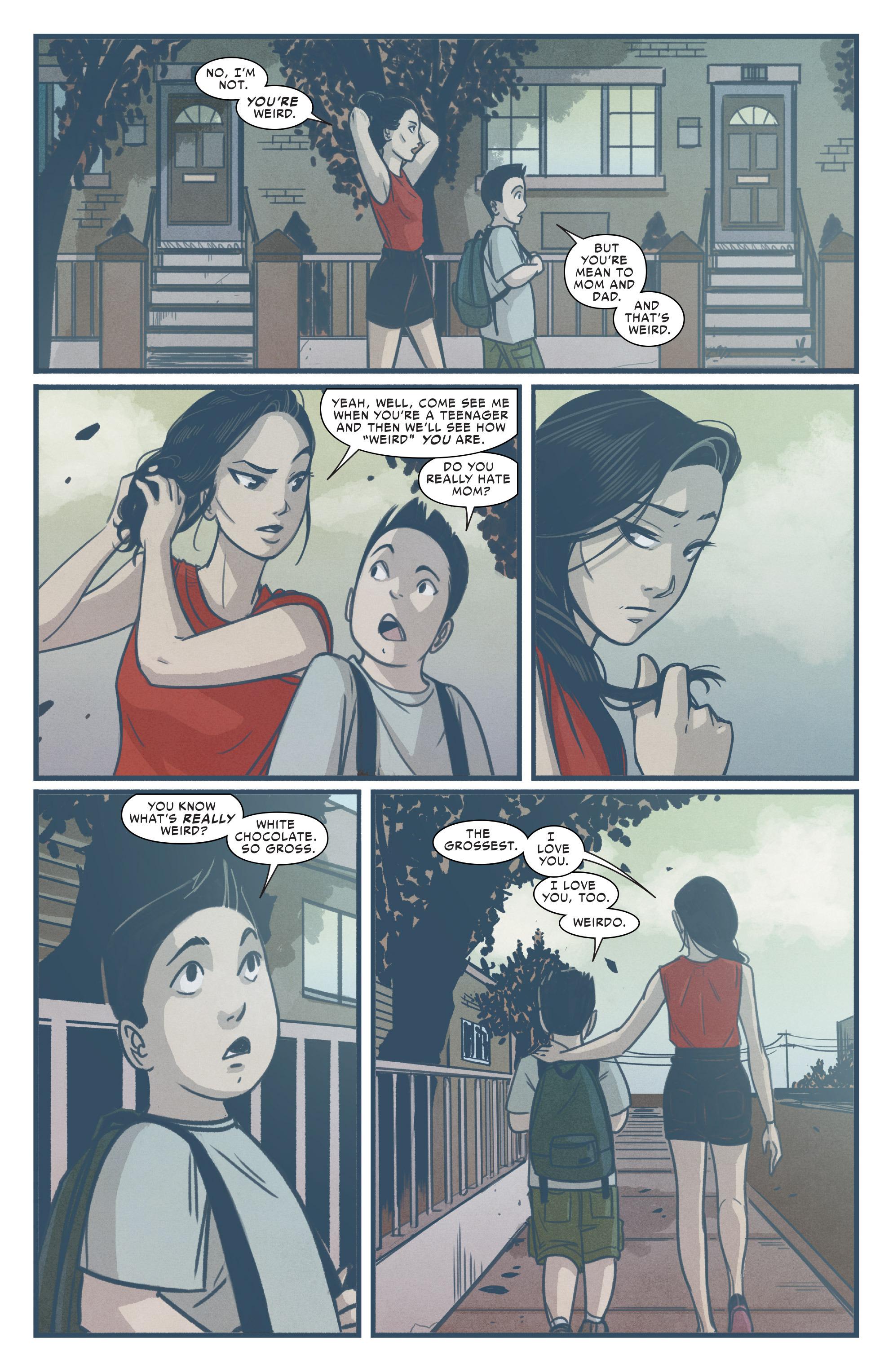 Read online Silk (2015) comic -  Issue #1 - 11