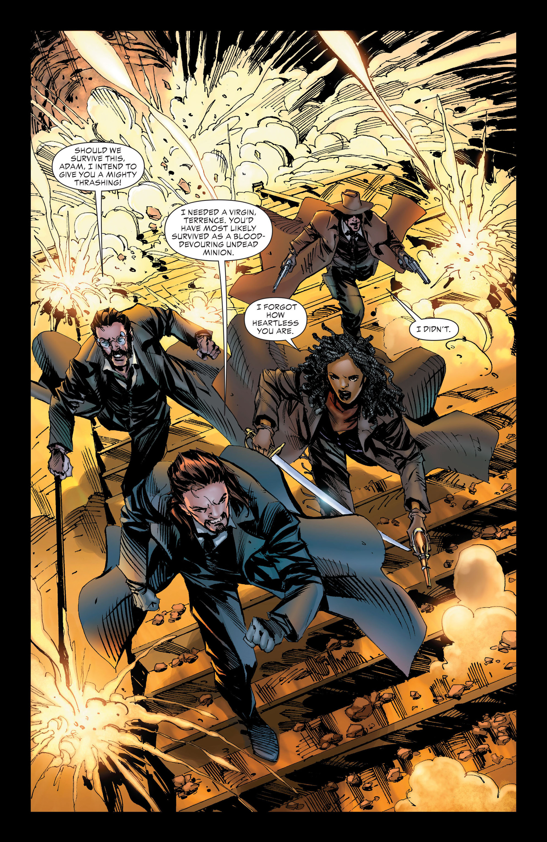 Read online All-Star Western (2011) comic -  Issue #21 - 27