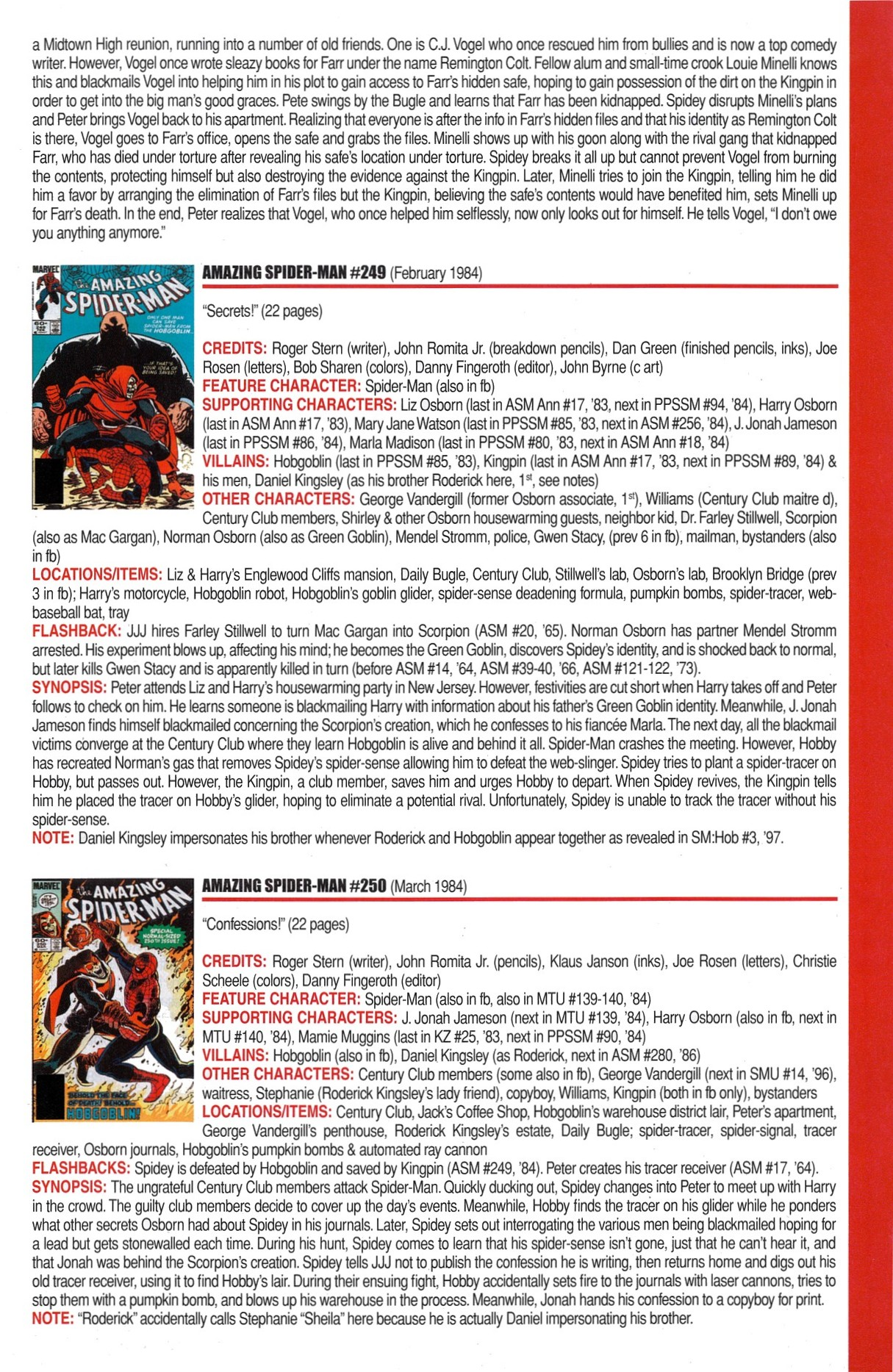 Read online Official Index to the Marvel Universe comic -  Issue #6 - 5