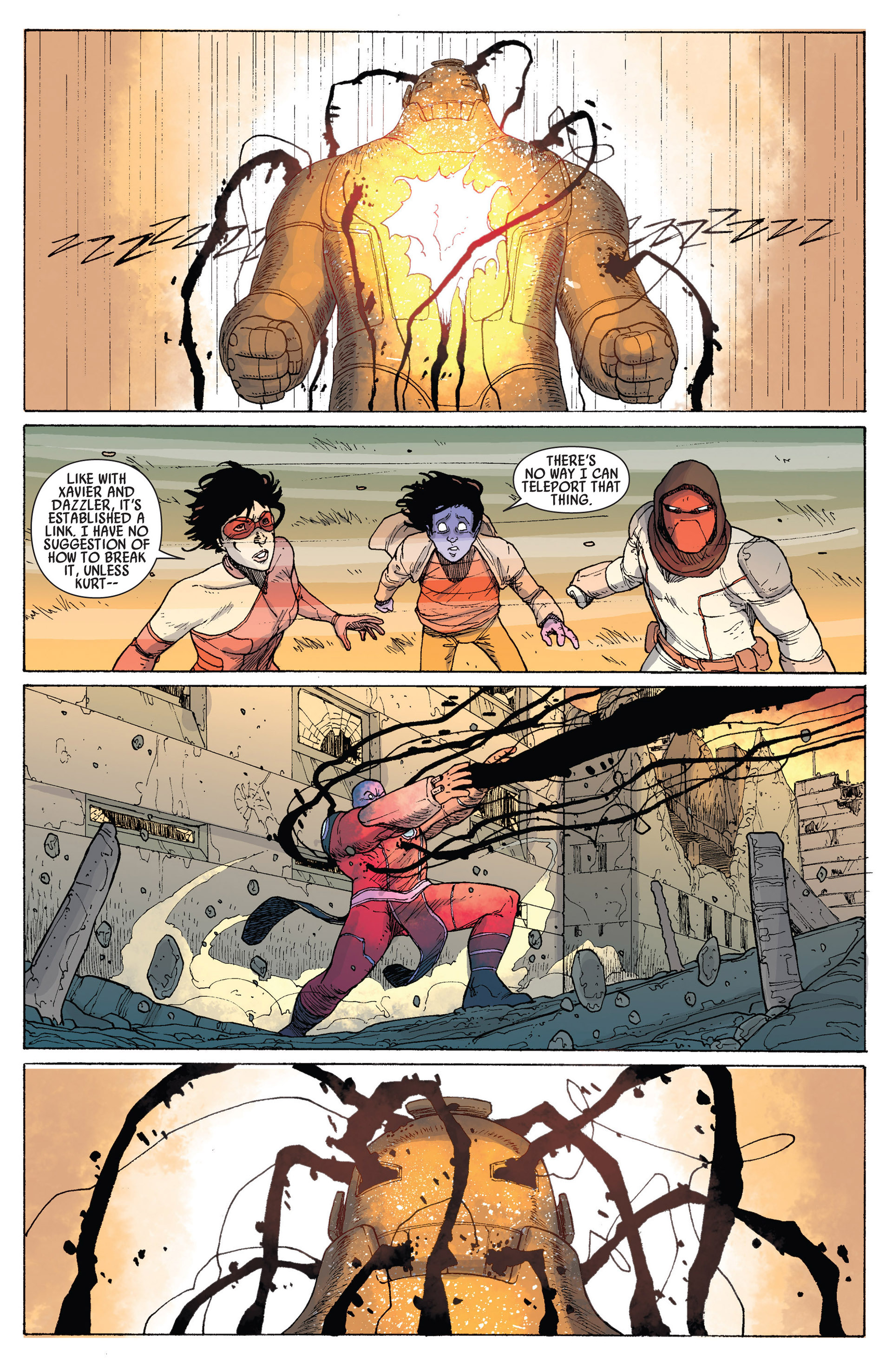 Read online Age of Apocalypse (2012) comic -  Issue #14 - 20