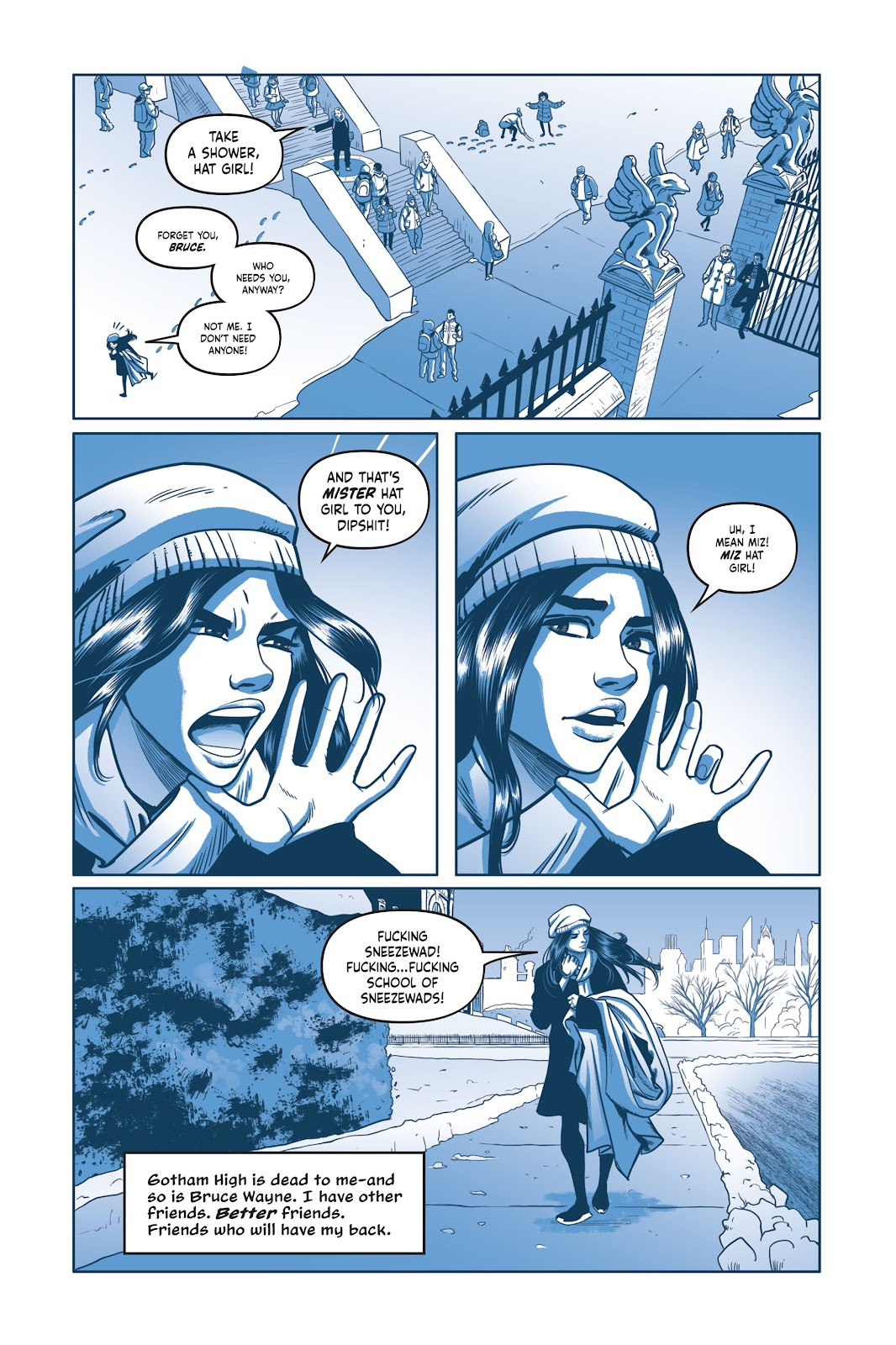 Read online Under the Moon: A Catwoman Tale comic -  Issue # TPB (Part 2) - 7