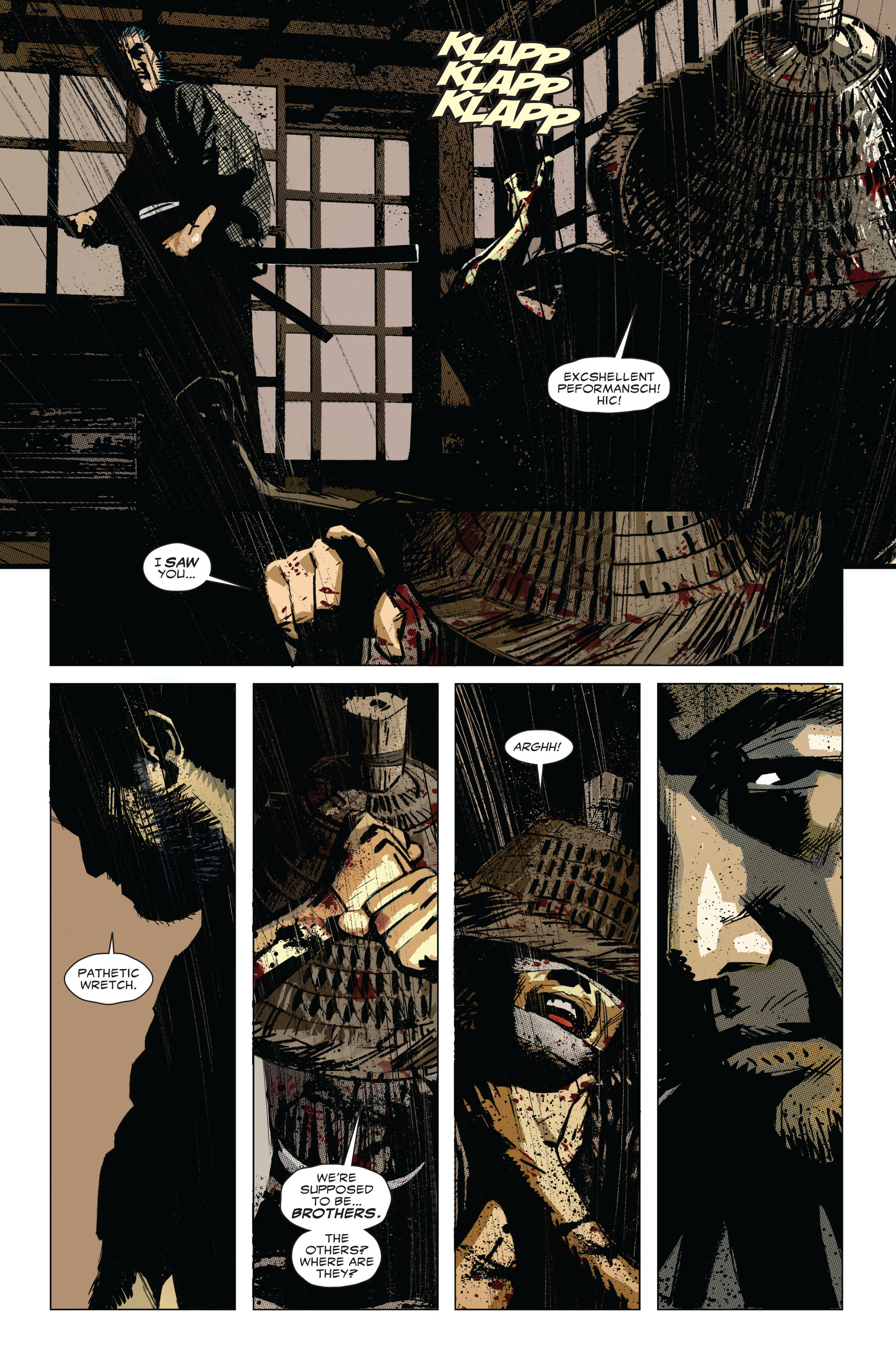 Read online 5 Ronin (2011) comic -  Issue #1 - 13
