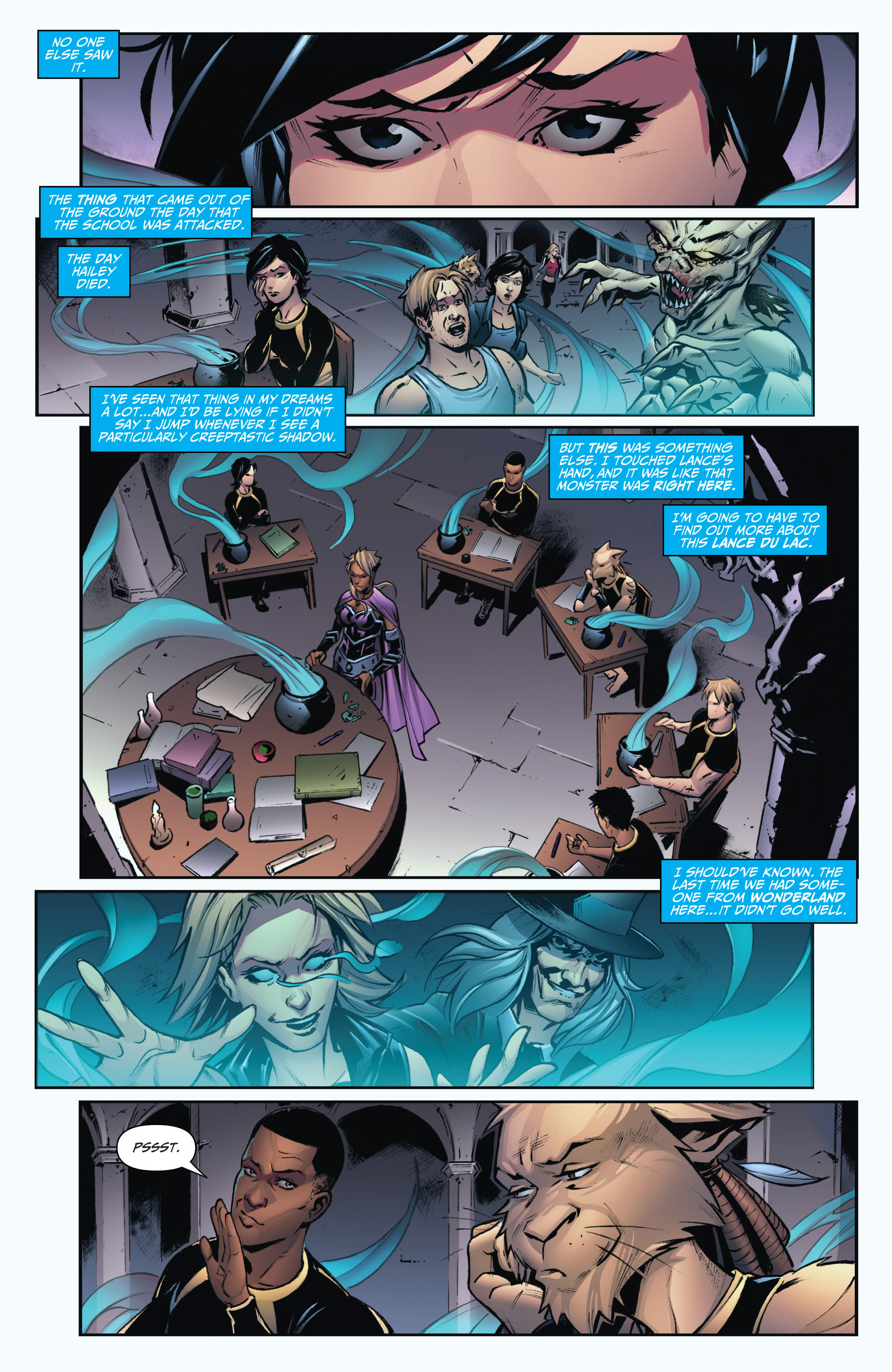 Read online Grimm Fairy Tales: Arcane Acre comic -  Issue # TPB 3 - 21