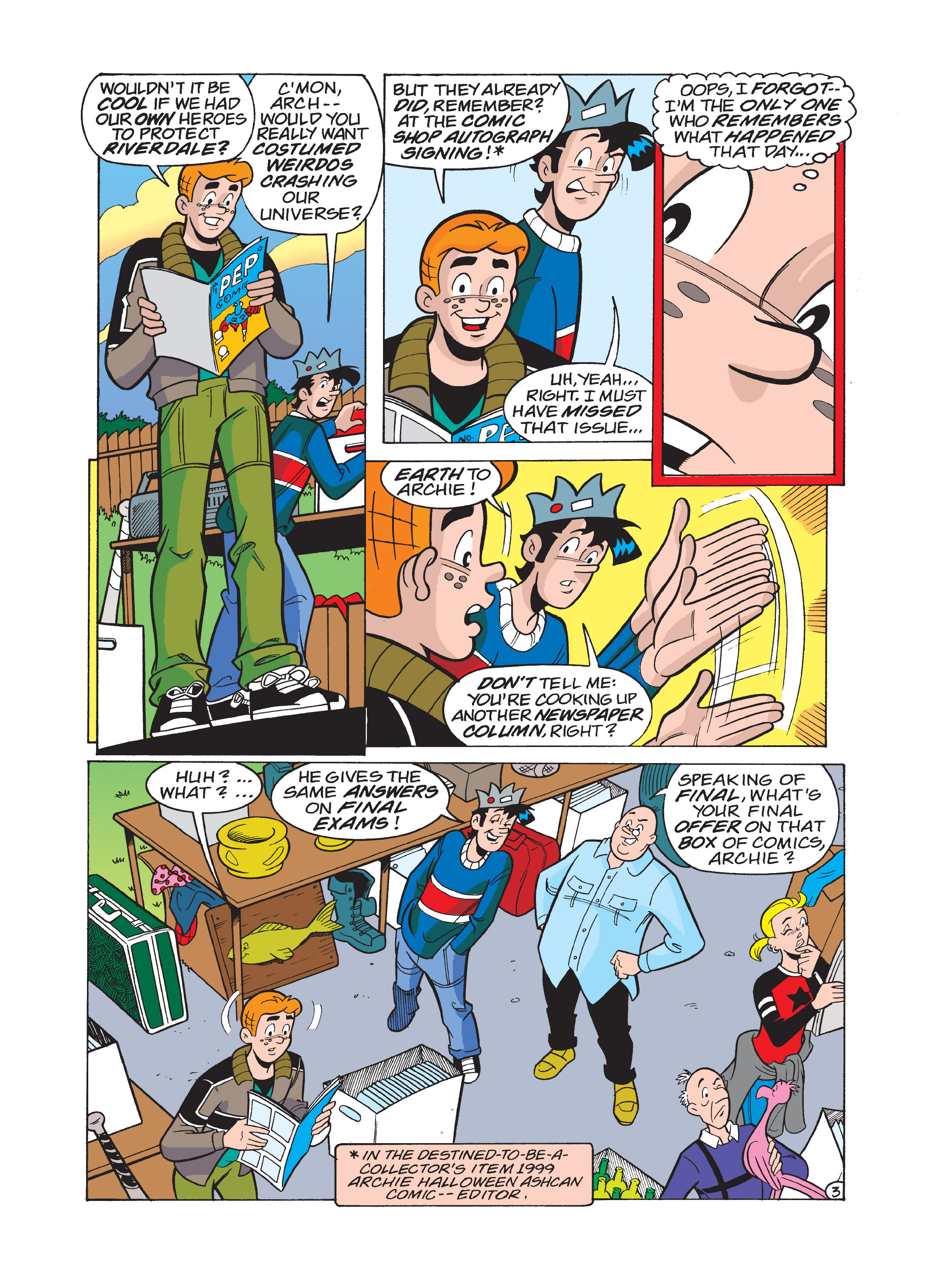 Read online Archie 75th Anniversary Digest comic -  Issue #1 - 119