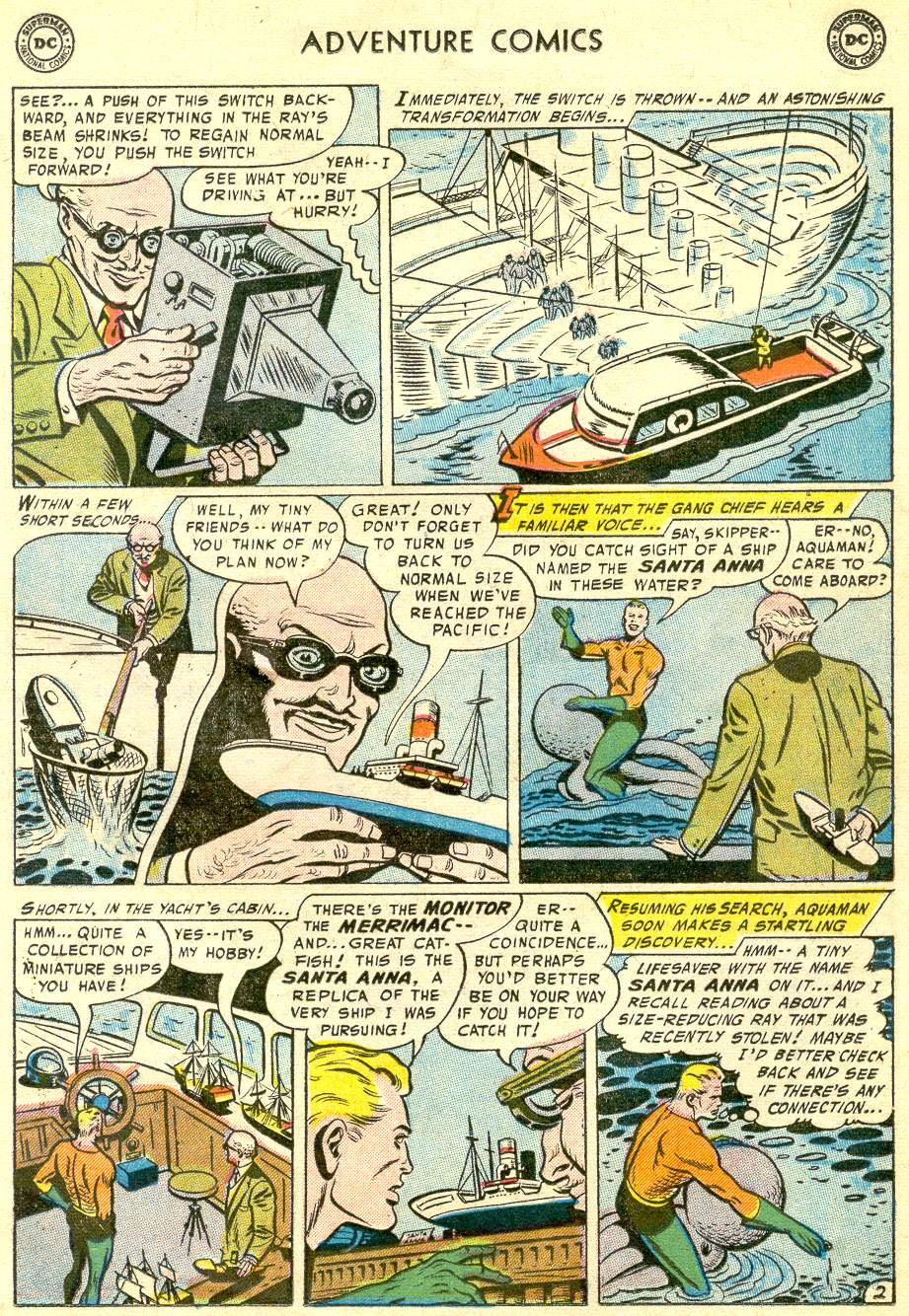 Read online Adventure Comics (1938) comic -  Issue #230 - 17
