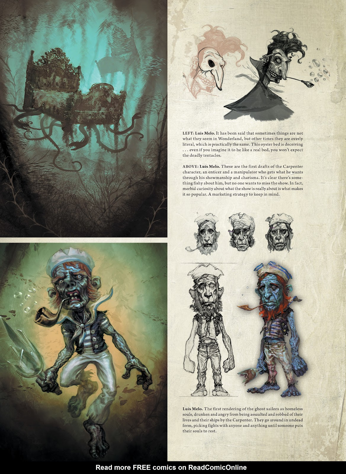 Read online The Art of Alice: Madness Returns comic -  Issue # TPB (Part 2) - 1