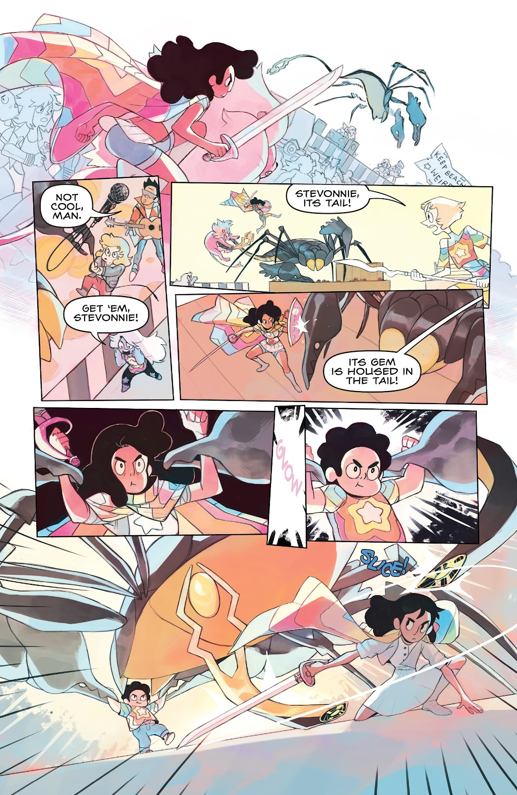 Read online Steven Universe: Fusion Frenzy comic -  Issue # Full - 9