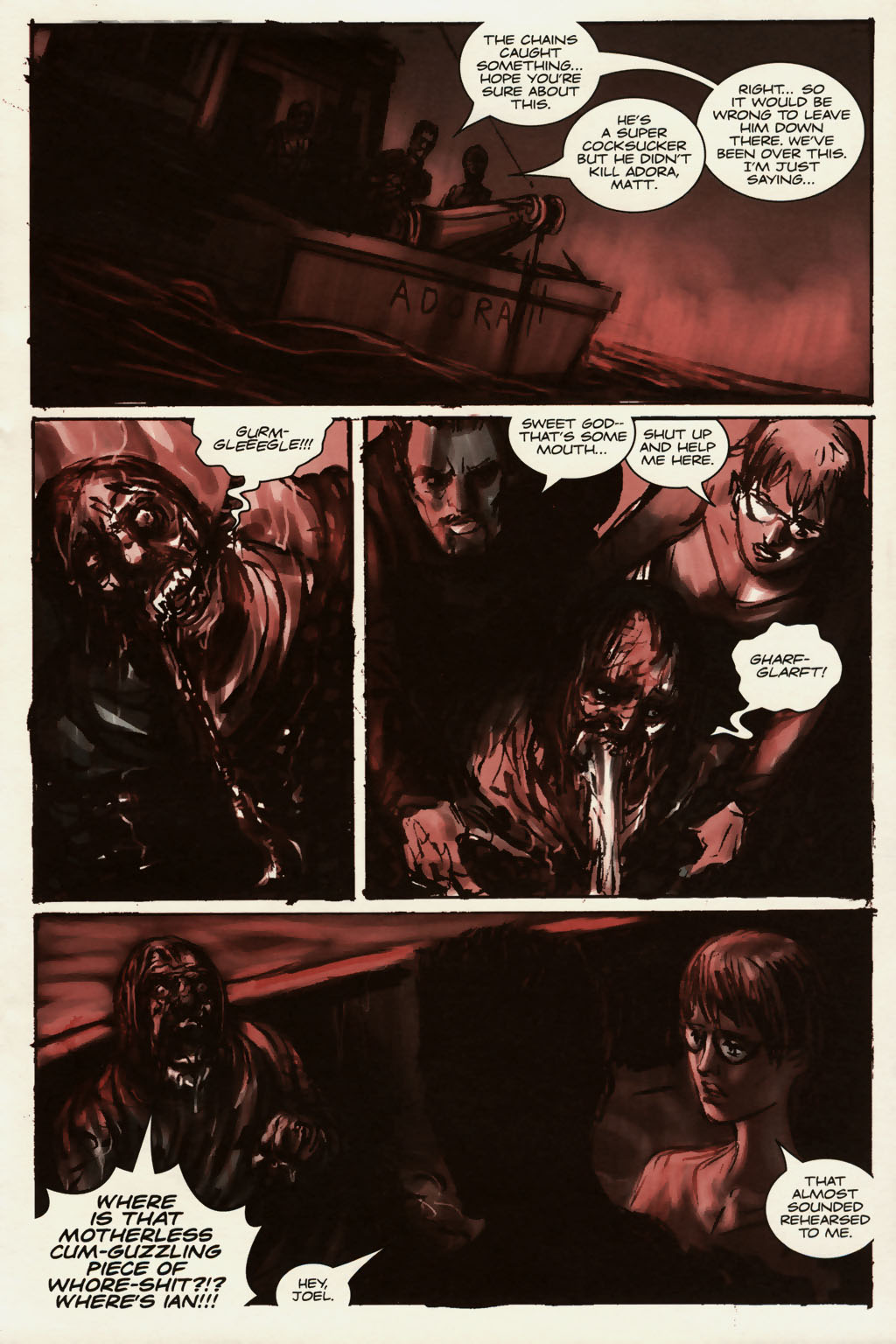 Read online Sea of Red comic -  Issue #13 - 18