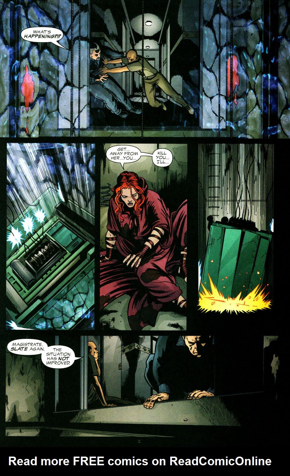 Read online Fallen Angel (2003) comic -  Issue #3 - 9