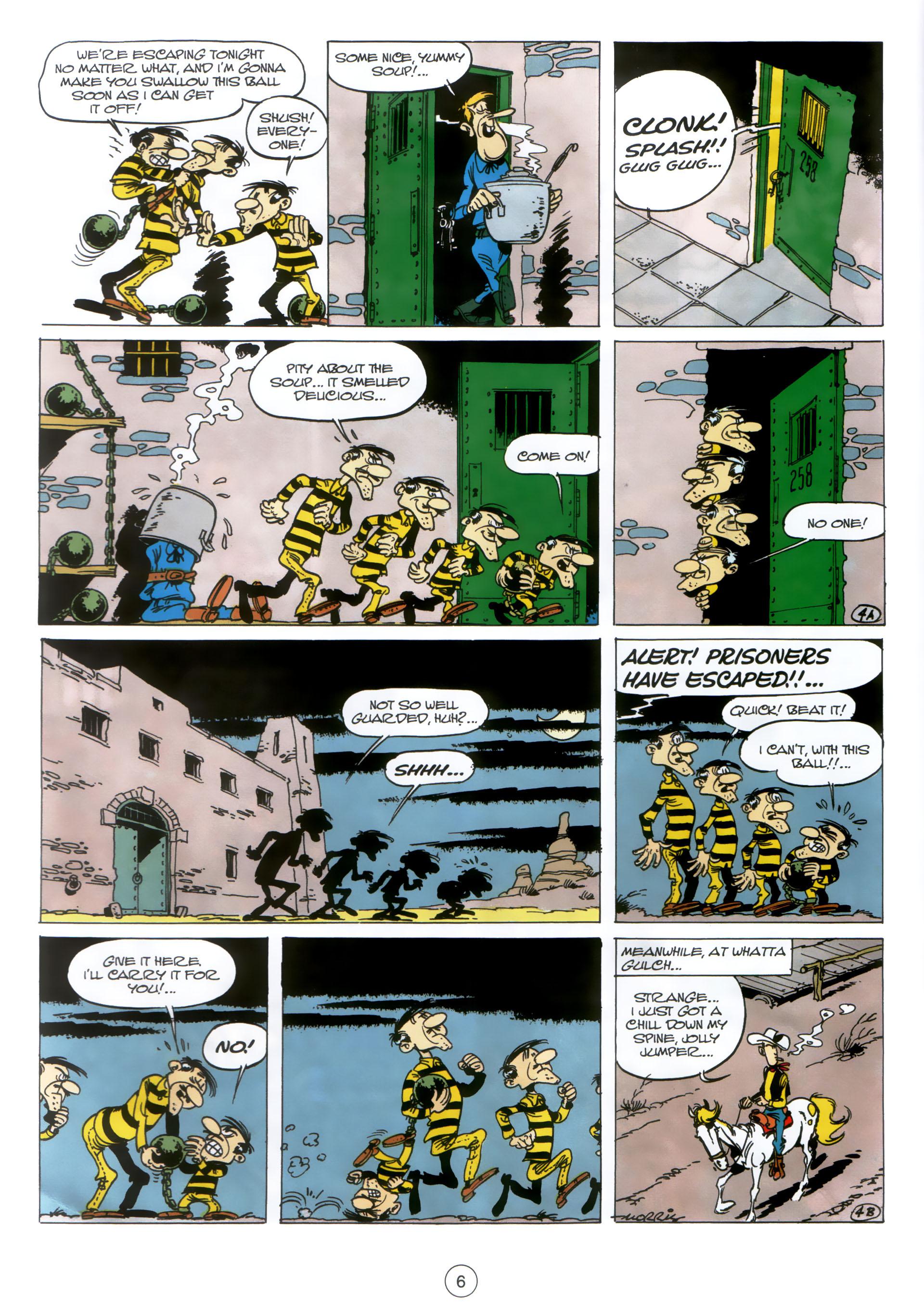 Read online A Lucky Luke Adventure comic -  Issue #30 - 5