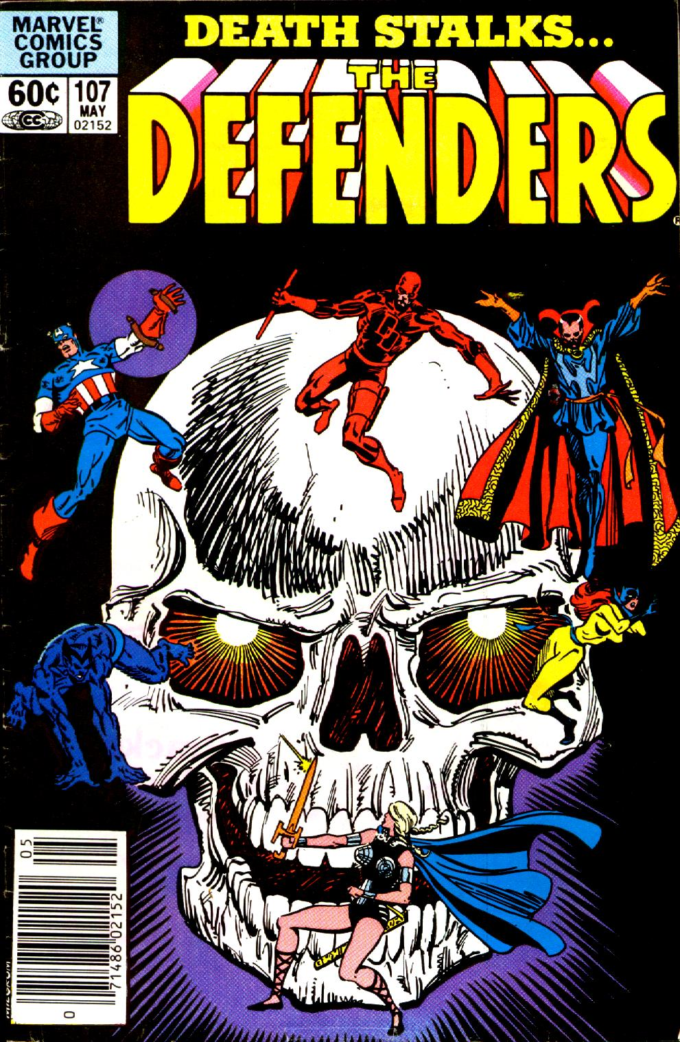 The Defenders (1972) issue 107 - Page 1