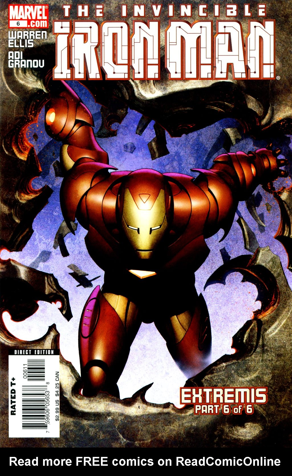 The Invincible Iron Man (2007) 6 Page 1
