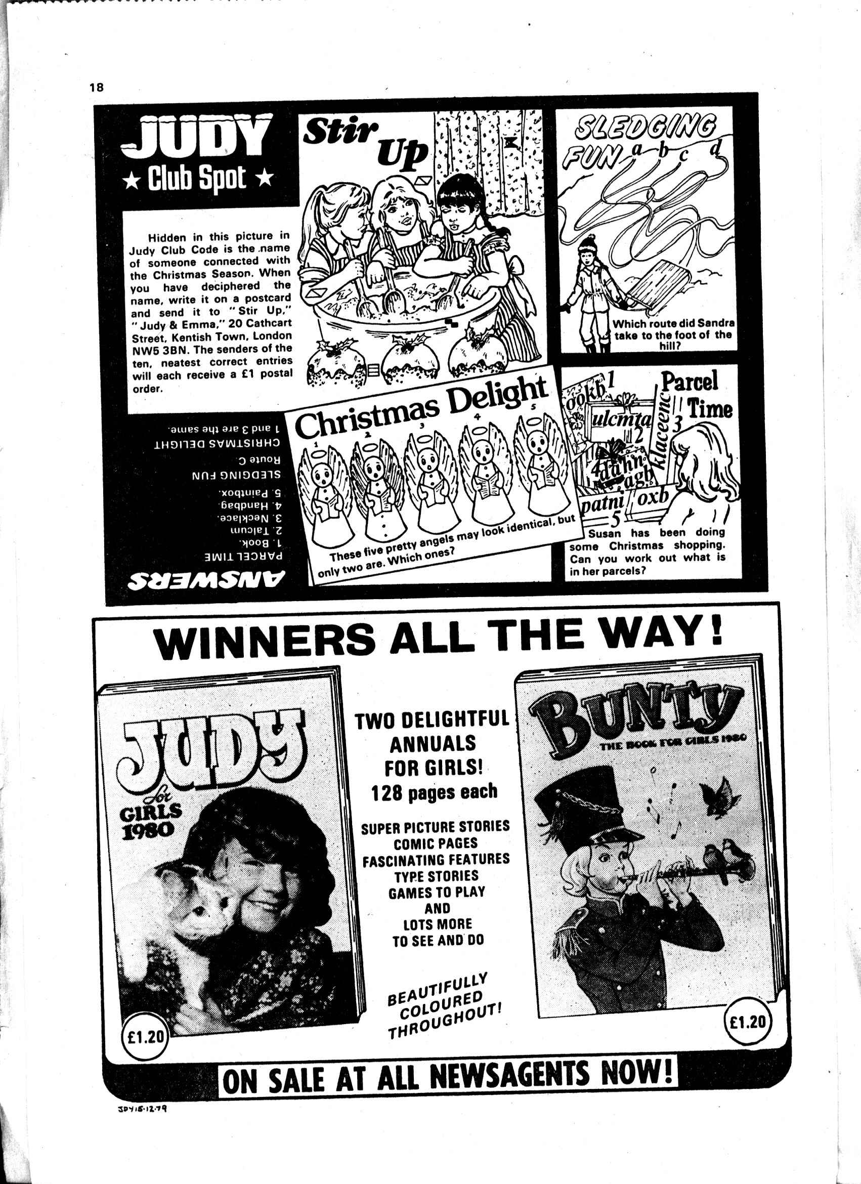 Read online Judy comic -  Issue #1040 - 18