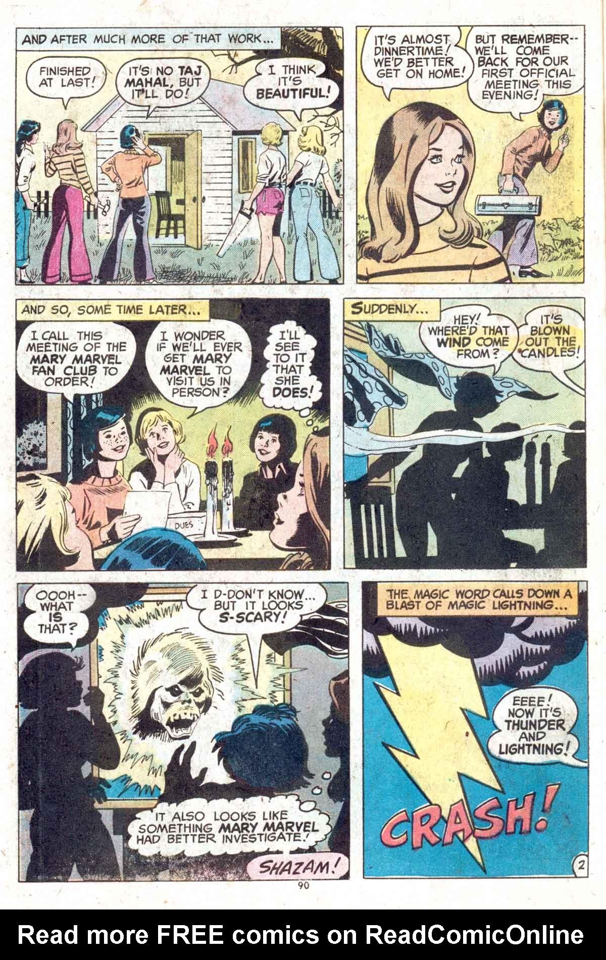 Read online Shazam! (1973) comic -  Issue #13 - 91
