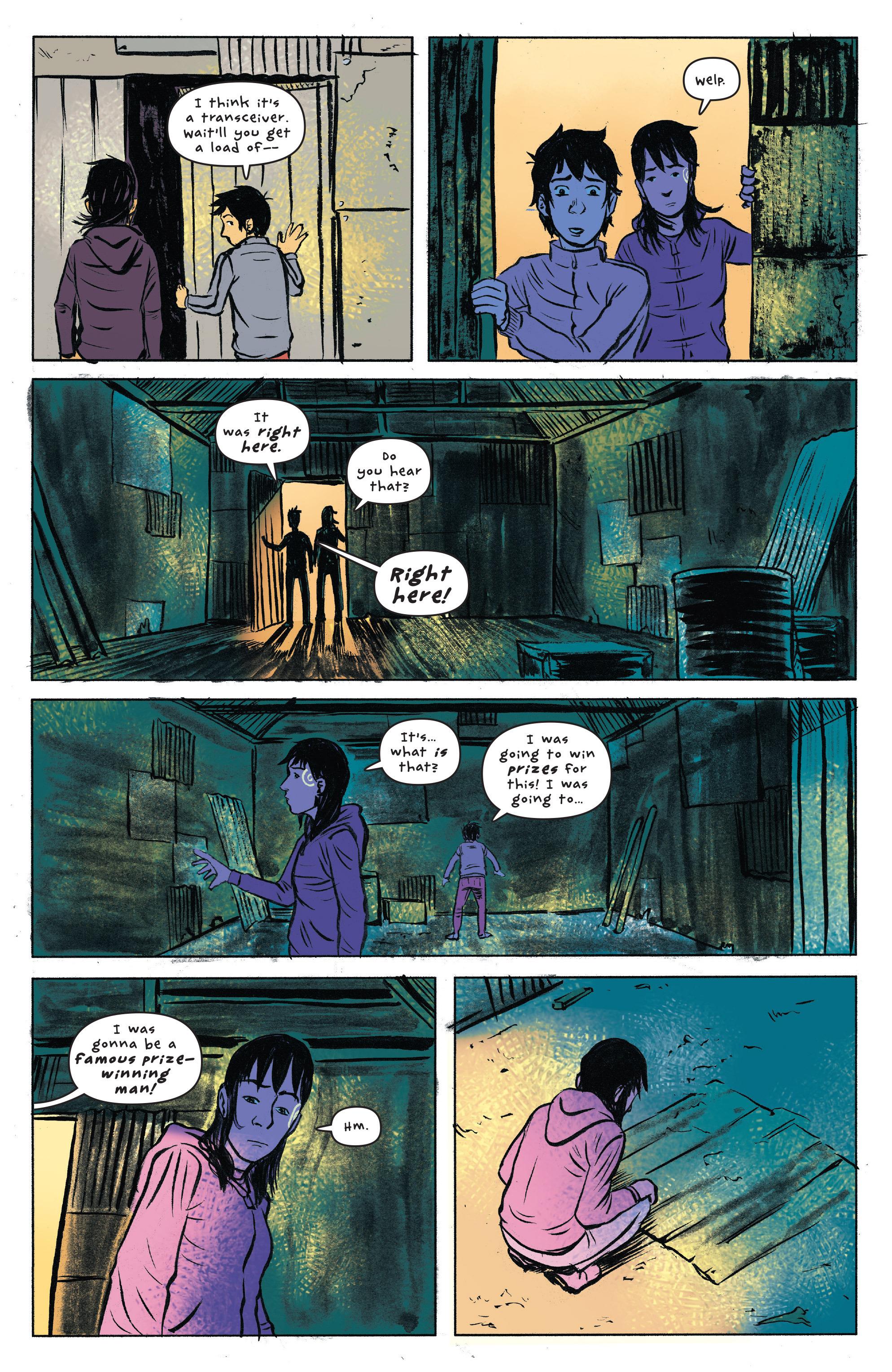 Read online UFOlogy comic -  Issue #4 - 13