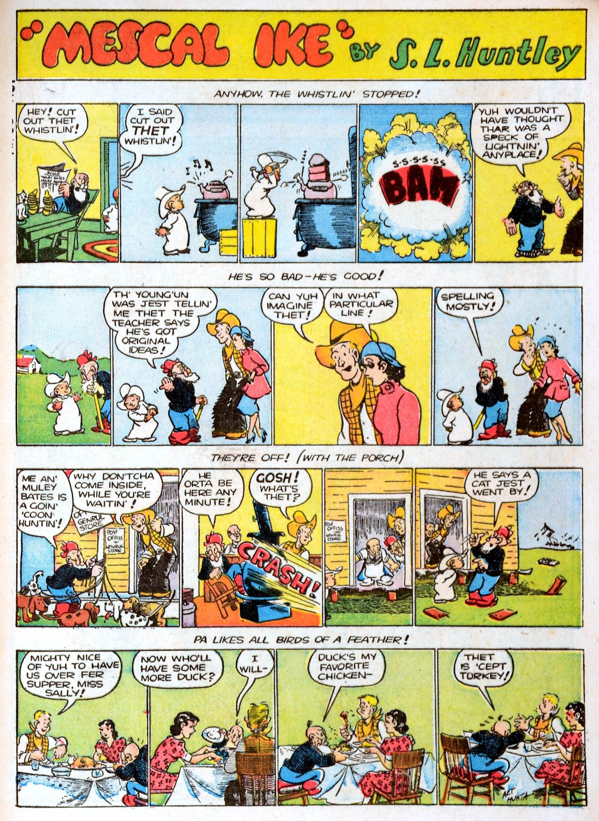 Read online Famous Funnies comic -  Issue #86 - 61