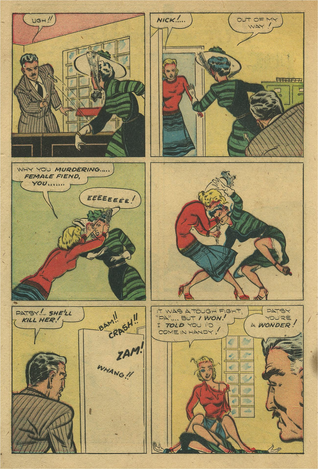 Read online Shadow Comics comic -  Issue #93 - 21