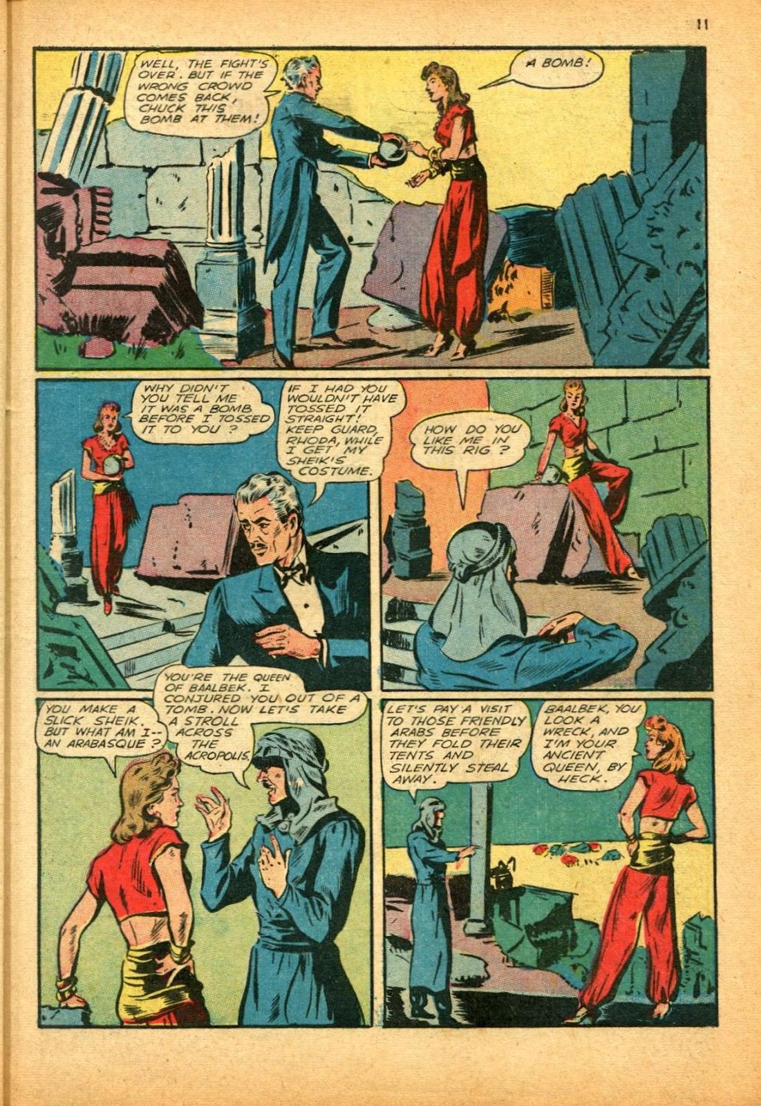 Read online Super-Magician Comics comic -  Issue #12 - 11