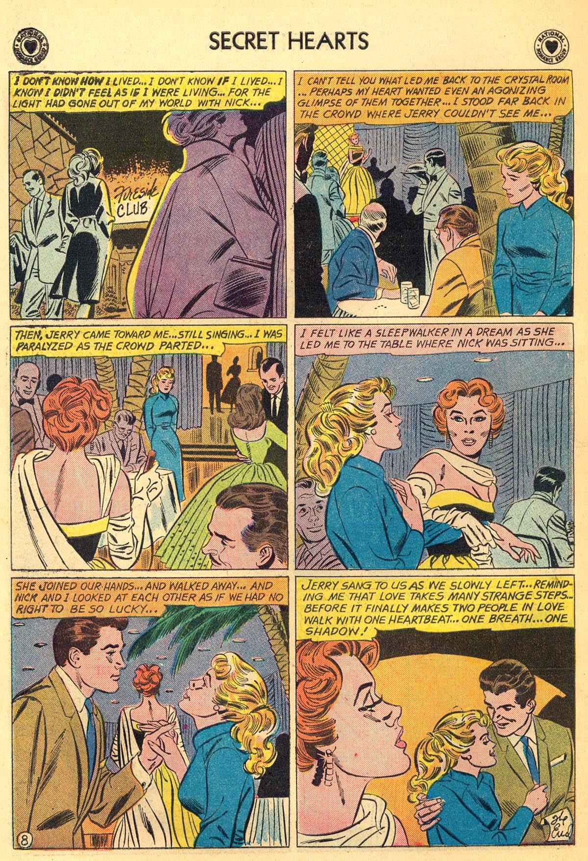Read online Secret Hearts comic -  Issue #66 - 34
