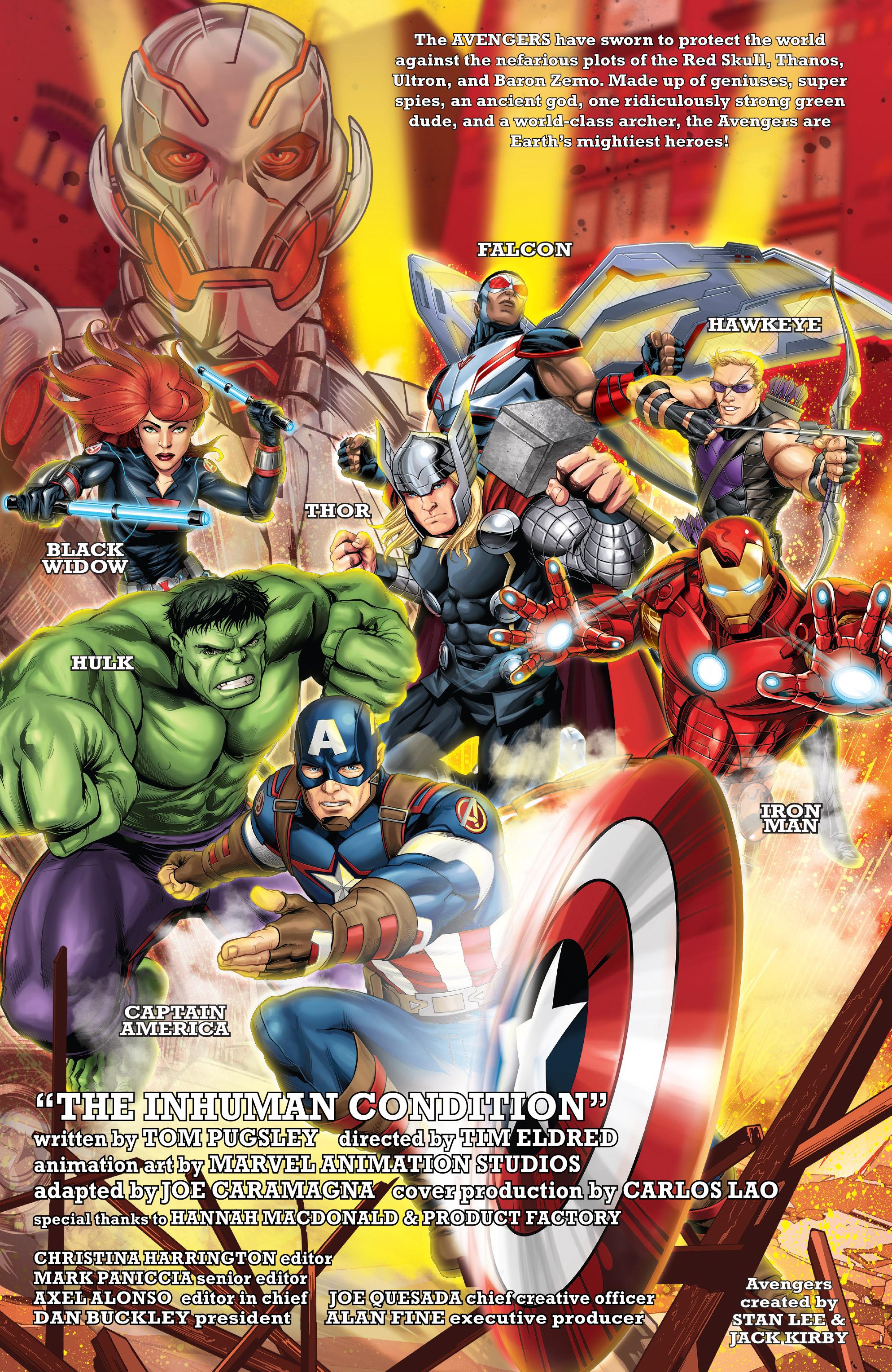 Read online Marvel Universe Avengers: Ultron Revolution comic -  Issue #10 - 2