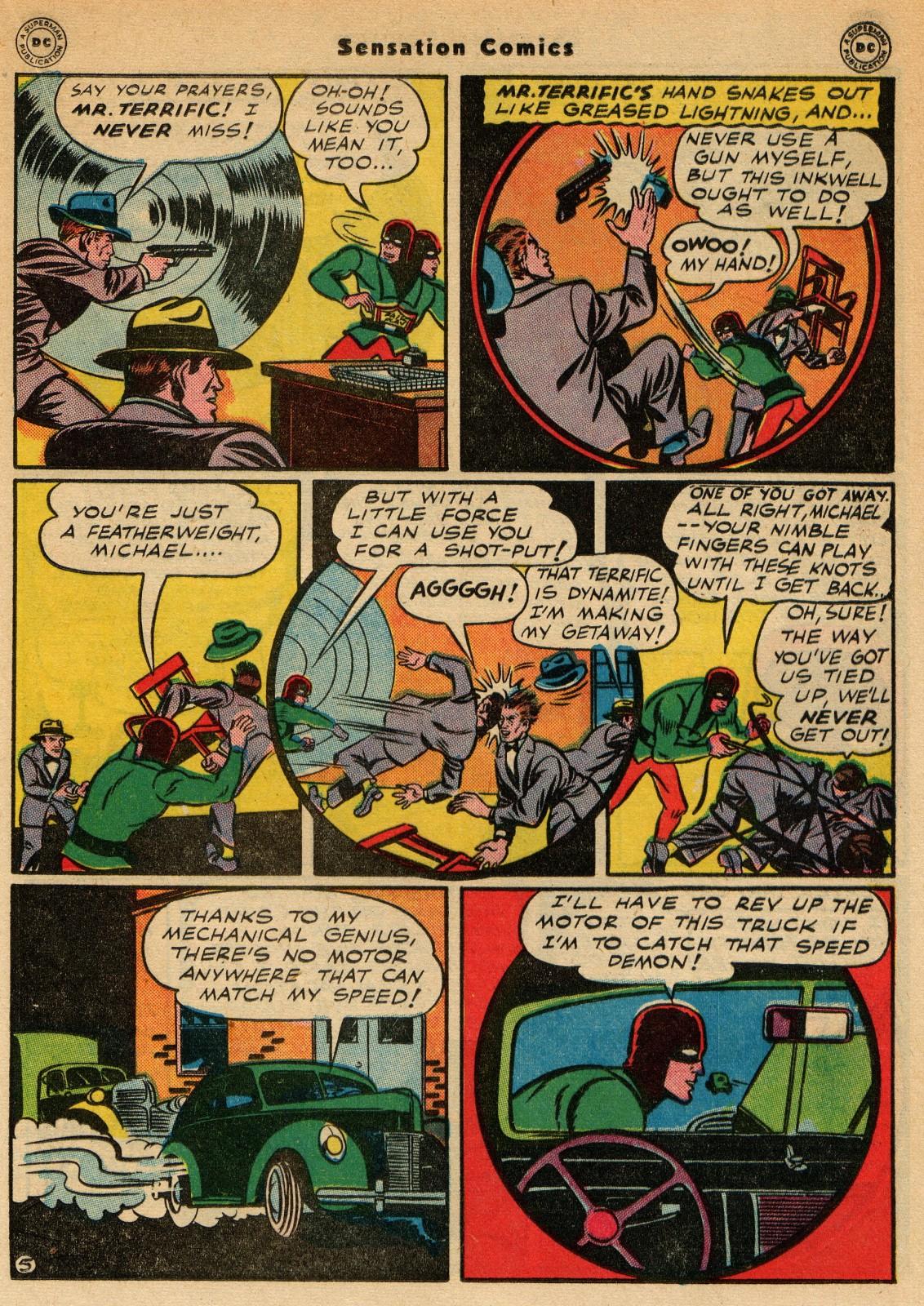 Read online Sensation (Mystery) Comics comic -  Issue #51 - 29