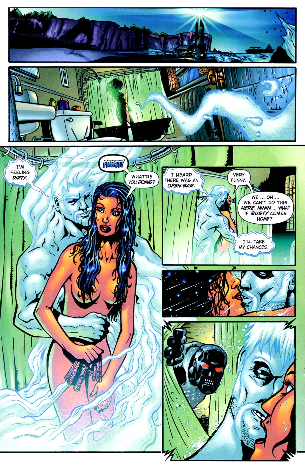 Read online Noble Causes (2002) comic -  Issue #2 - 17