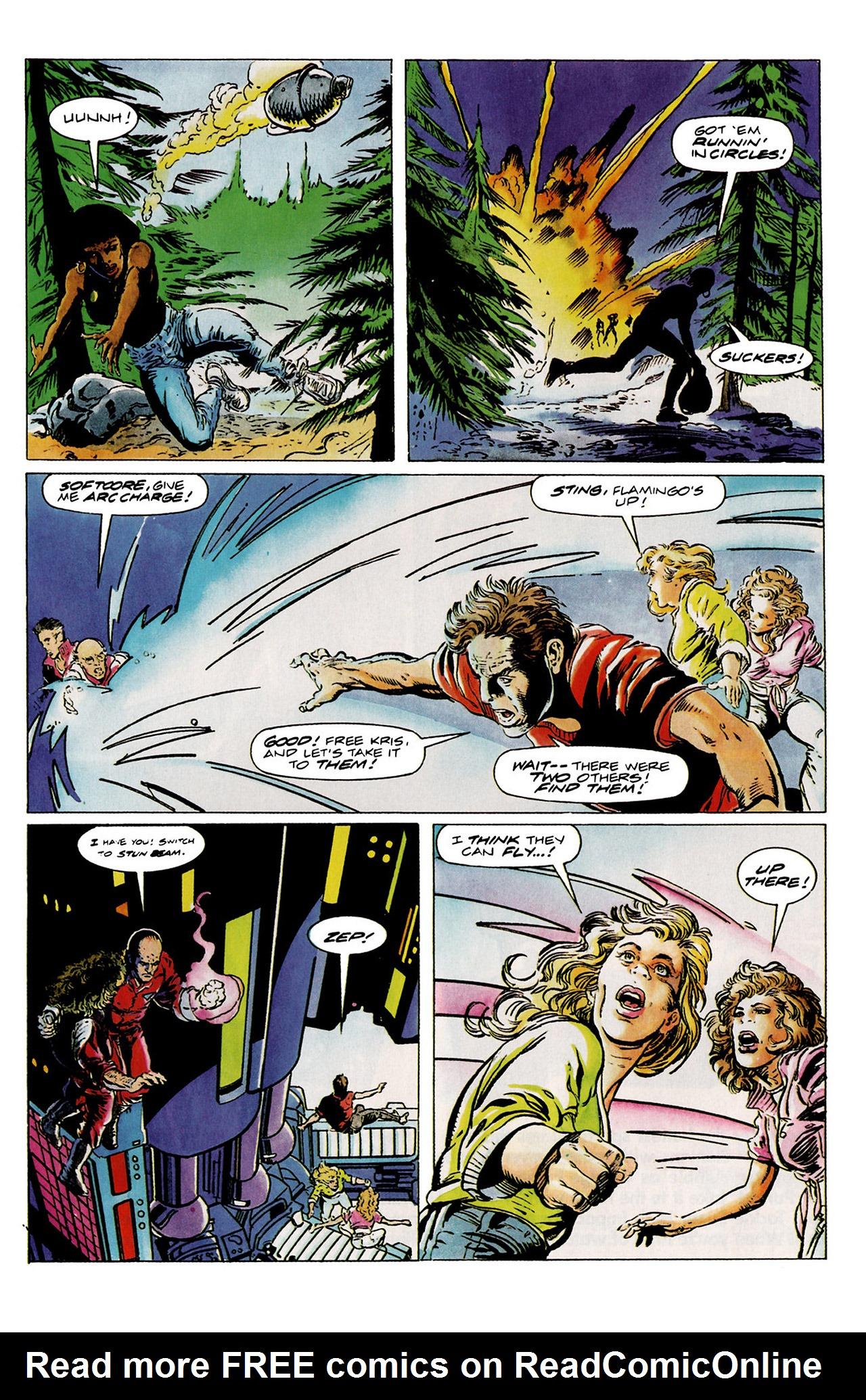 Read online Harbinger (1992) comic -  Issue #11 - 17