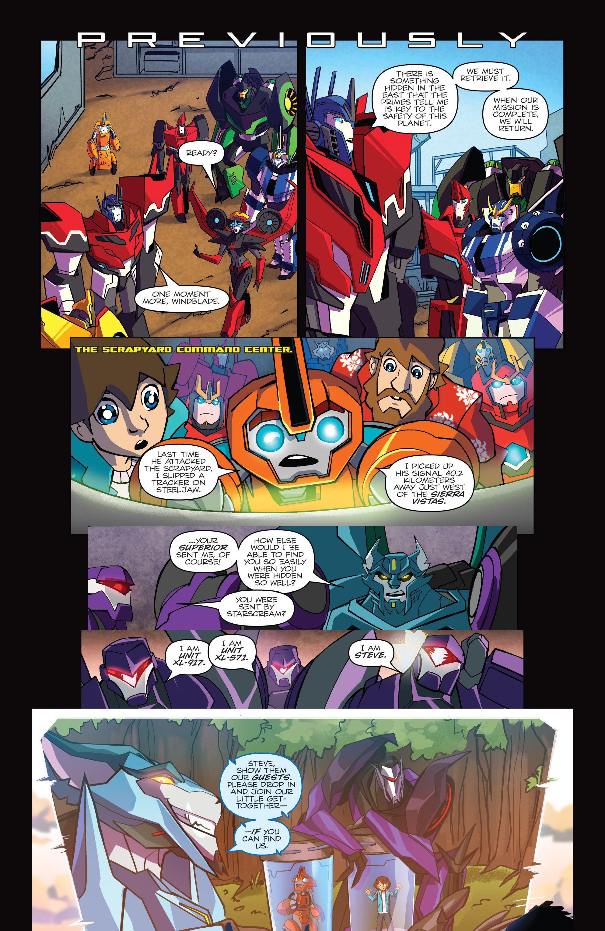 Read online Transformers: Robots In Disguise (2015) comic -  Issue #6 - 3