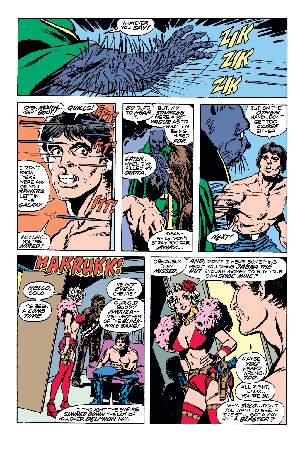 Read online Star Wars Legends: The Original Marvel Years - Epic Collection comic -  Issue # TPB 1 (Part 2) - 43