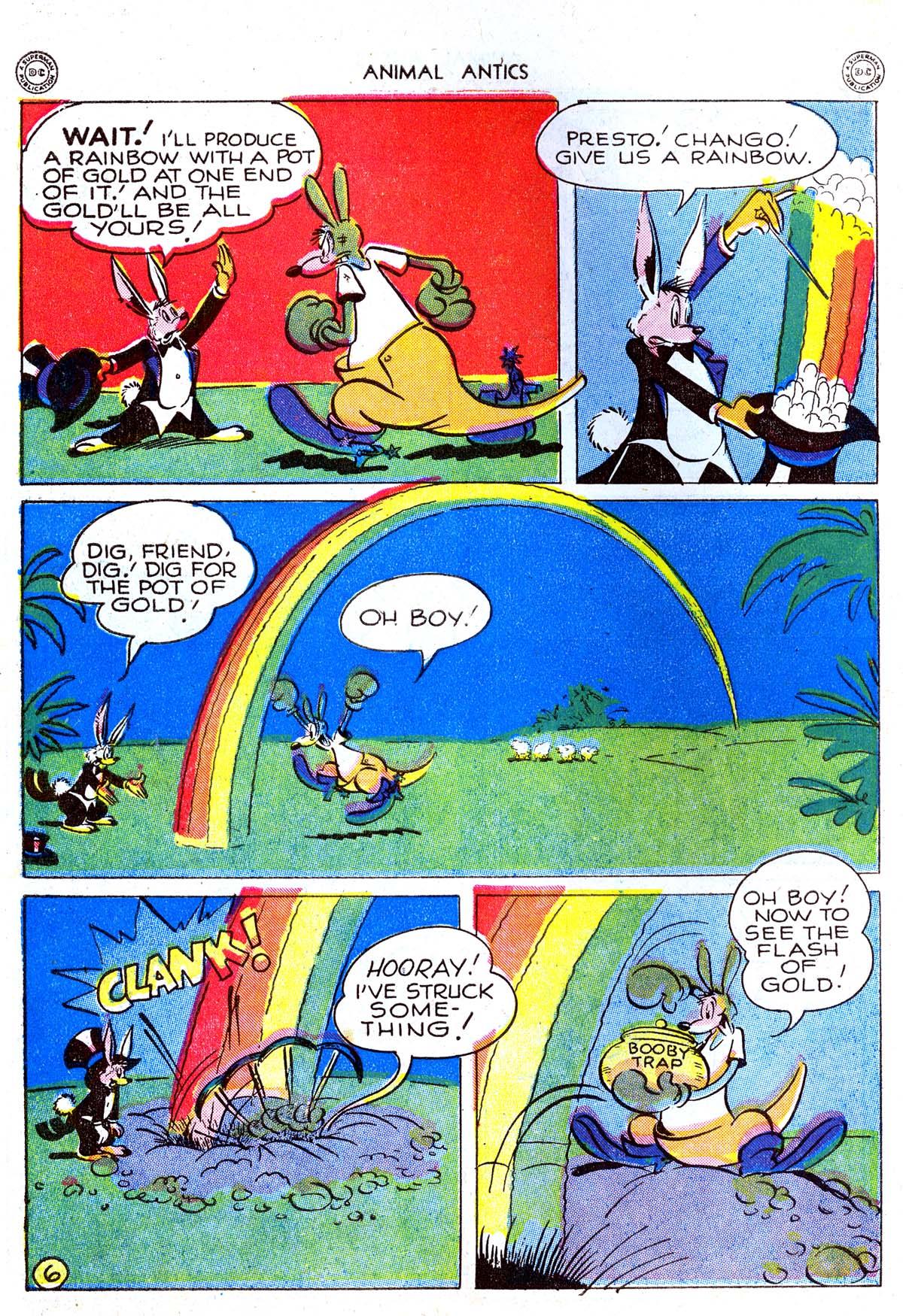 Read online Animal Antics comic -  Issue #5 - 8