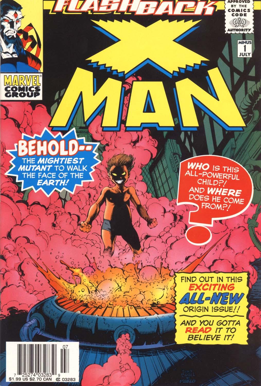 X-Man -1 Page 1