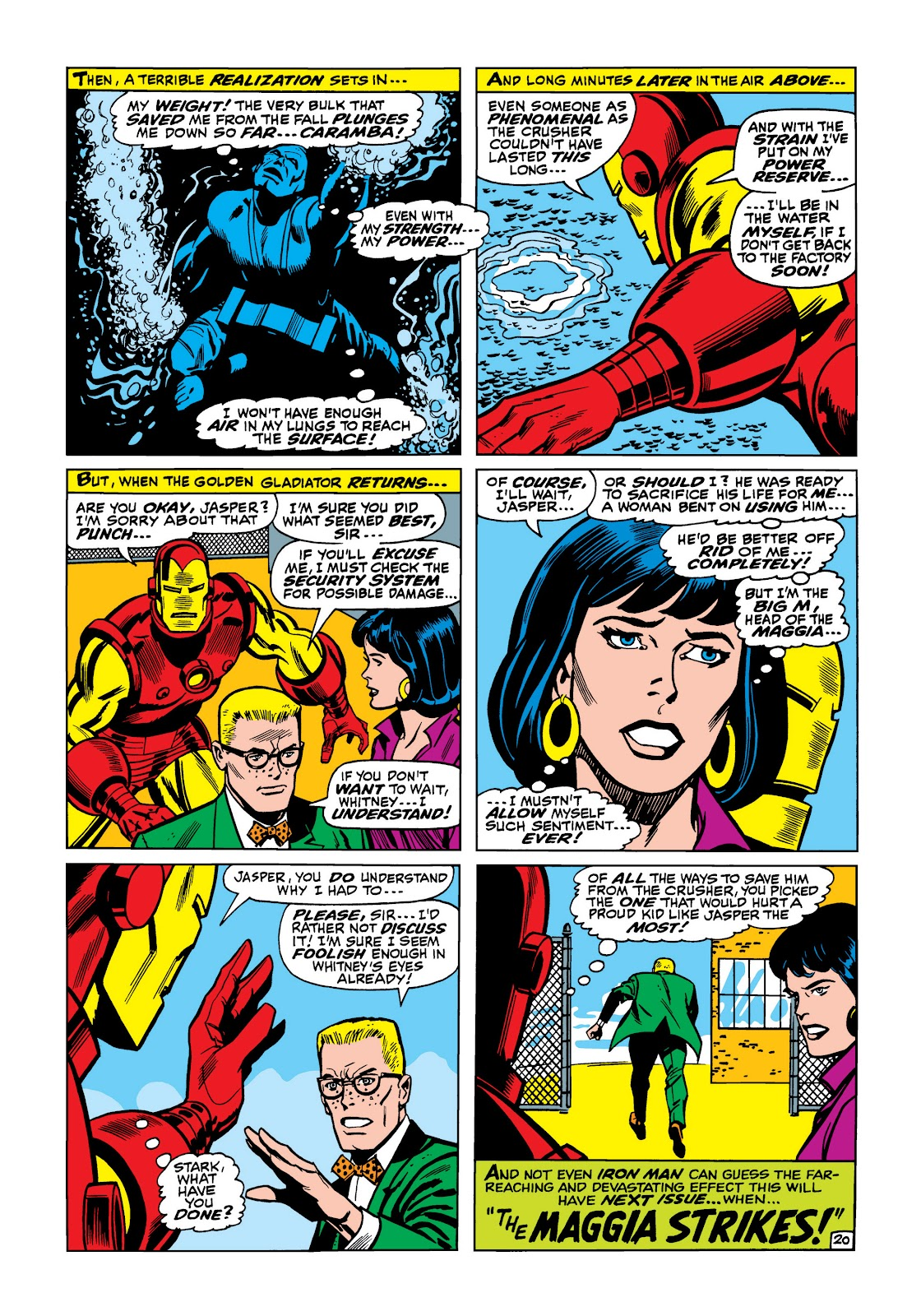 Read online Marvel Masterworks: The Invincible Iron Man comic -  Issue # TPB 5 (Part 2) - 11