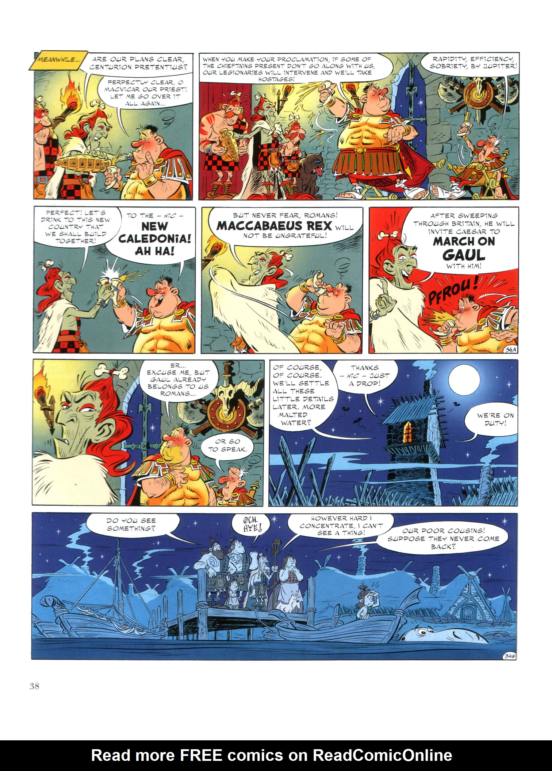Read online Asterix comic -  Issue #35 - 39