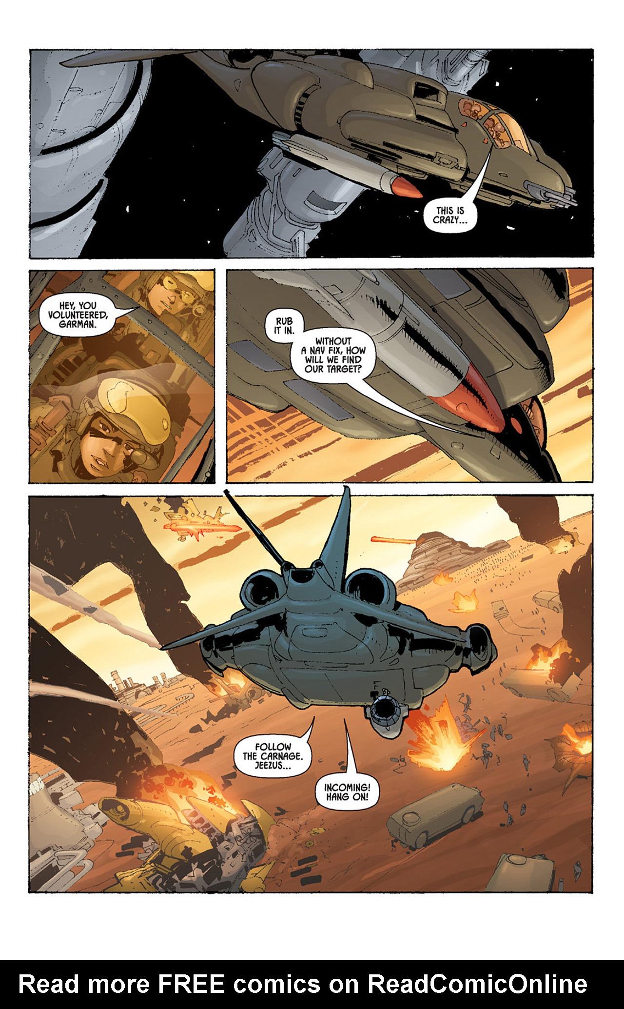 Read online Aliens vs. Predator: Three World War comic -  Issue #4 - 17