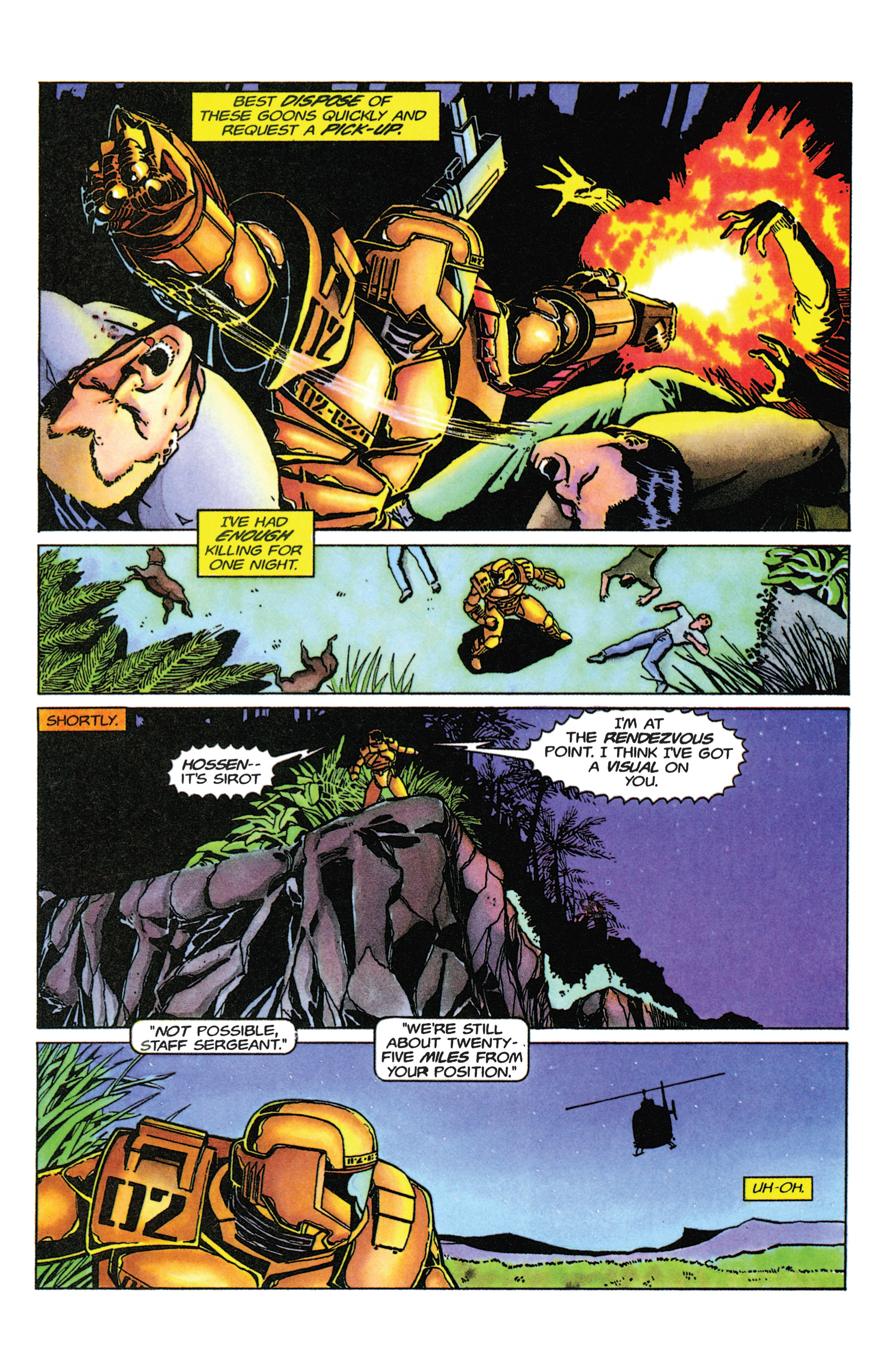 Read online Armorines comic -  Issue #9 - 18