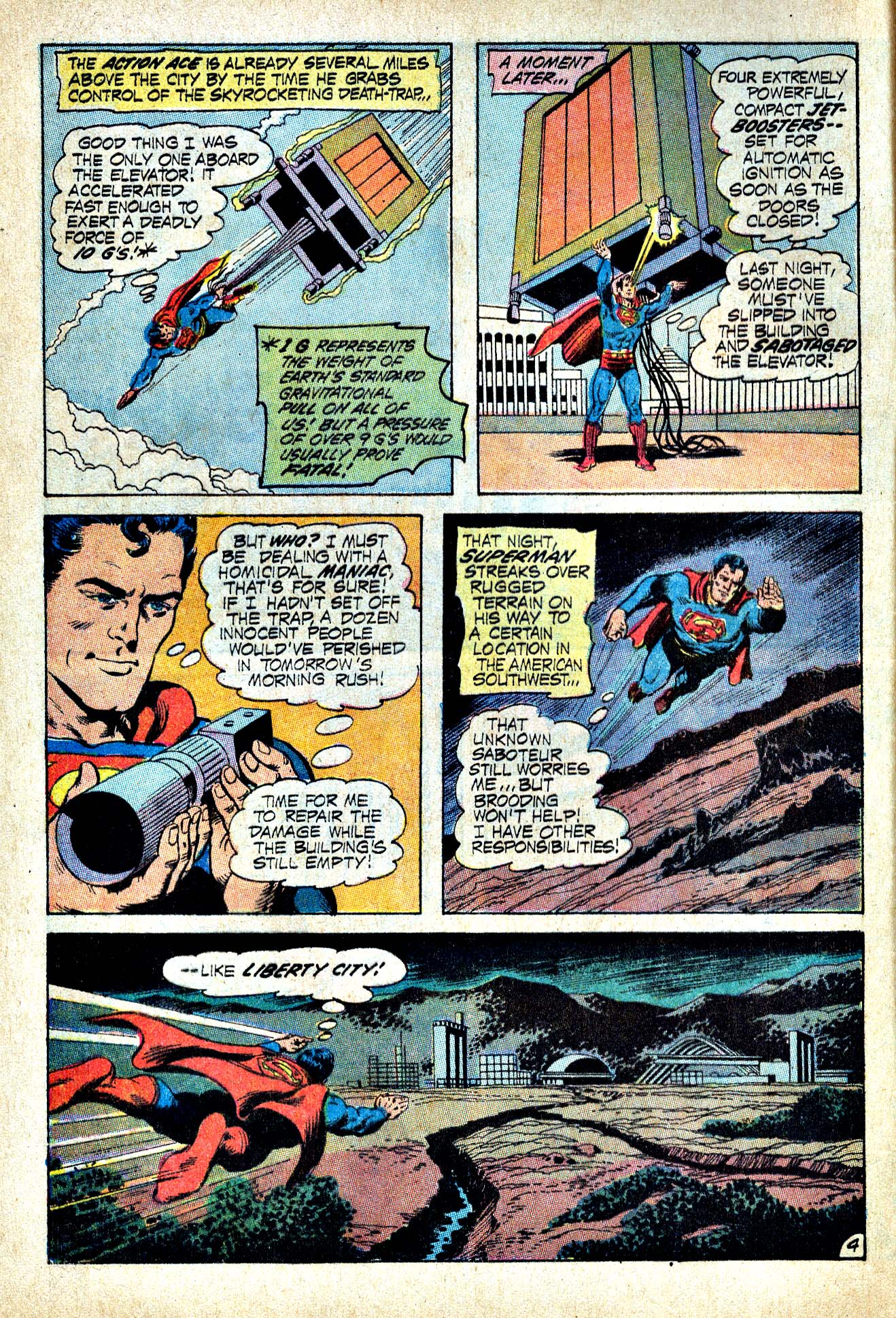 Read online Action Comics (1938) comic -  Issue #409 - 7