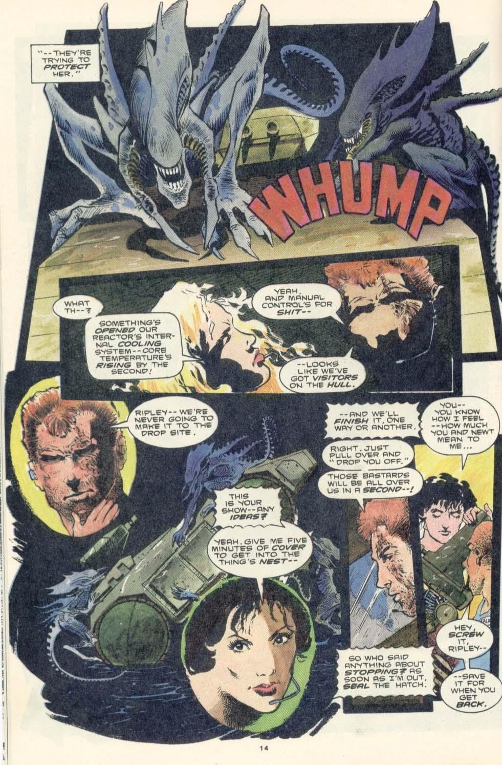 Read online Aliens: Earth War comic -  Issue #3 - 16