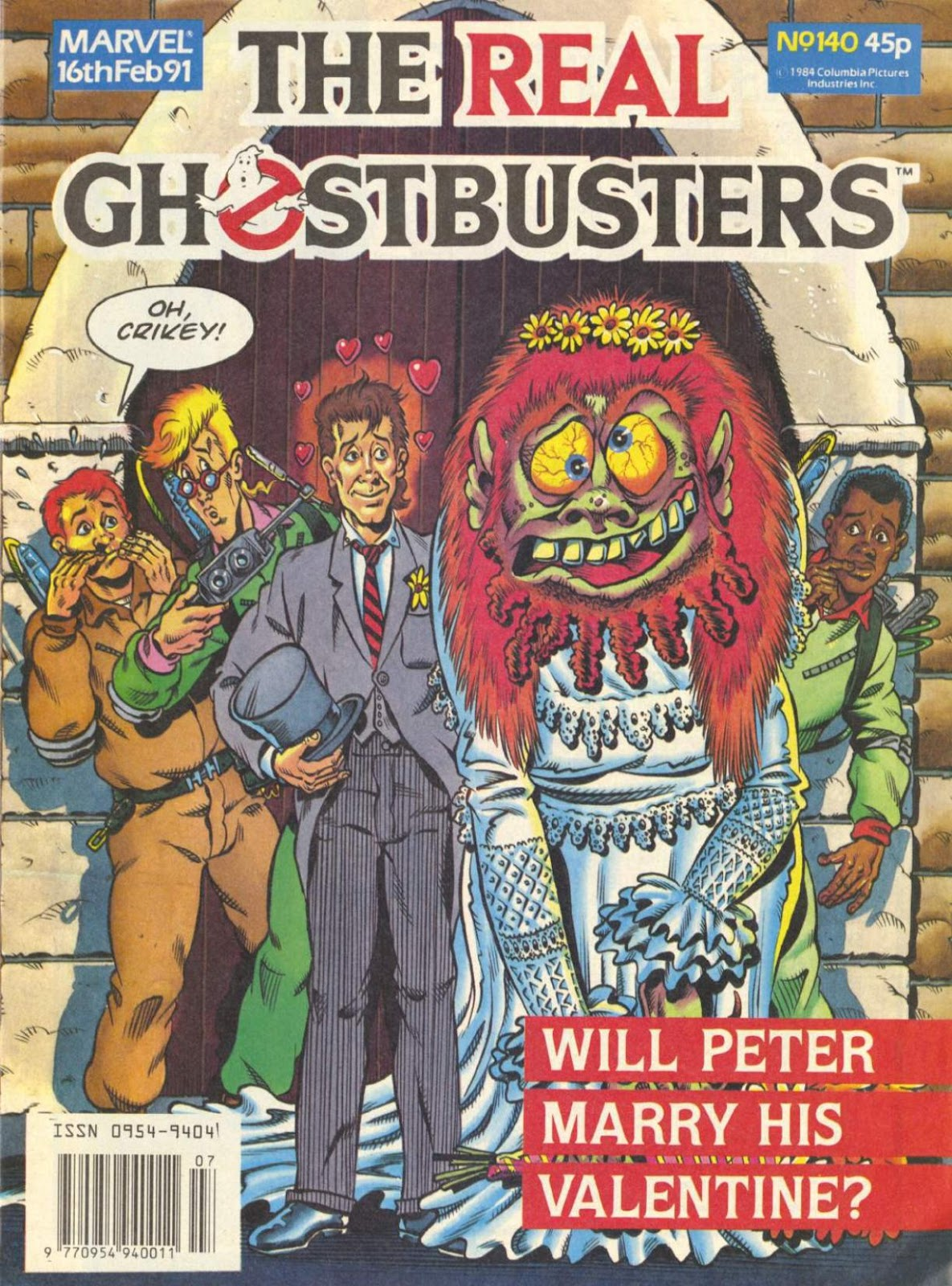 The Real Ghostbusters 140 Page 1