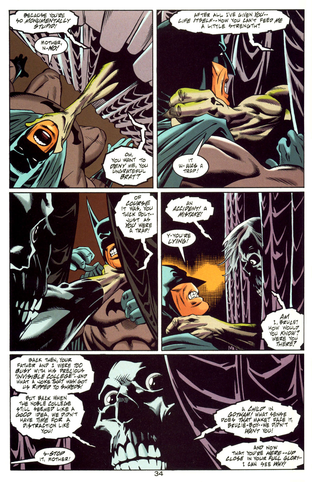 Read online Batman: Haunted Gotham comic -  Issue #4 - 34