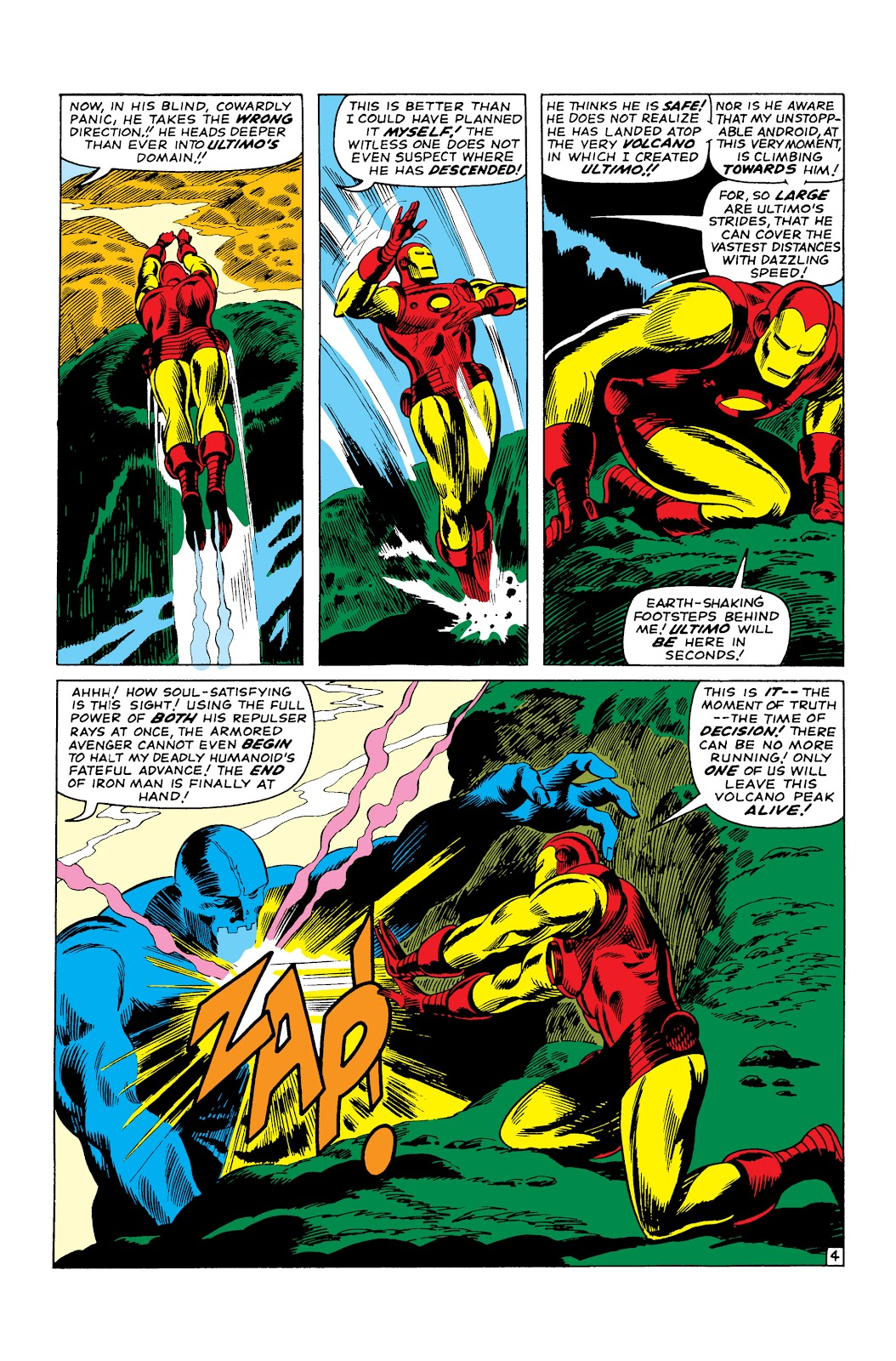 Read online Marvel Masterworks: The Invincible Iron Man comic -  Issue # TPB 3 (Part 3) - 83